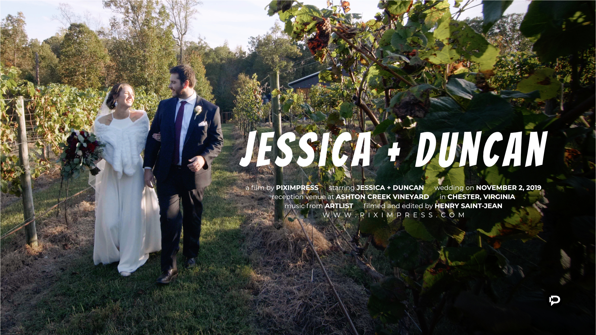 Jessica + Duncan | Chester, Virginia | Ashton Creek
