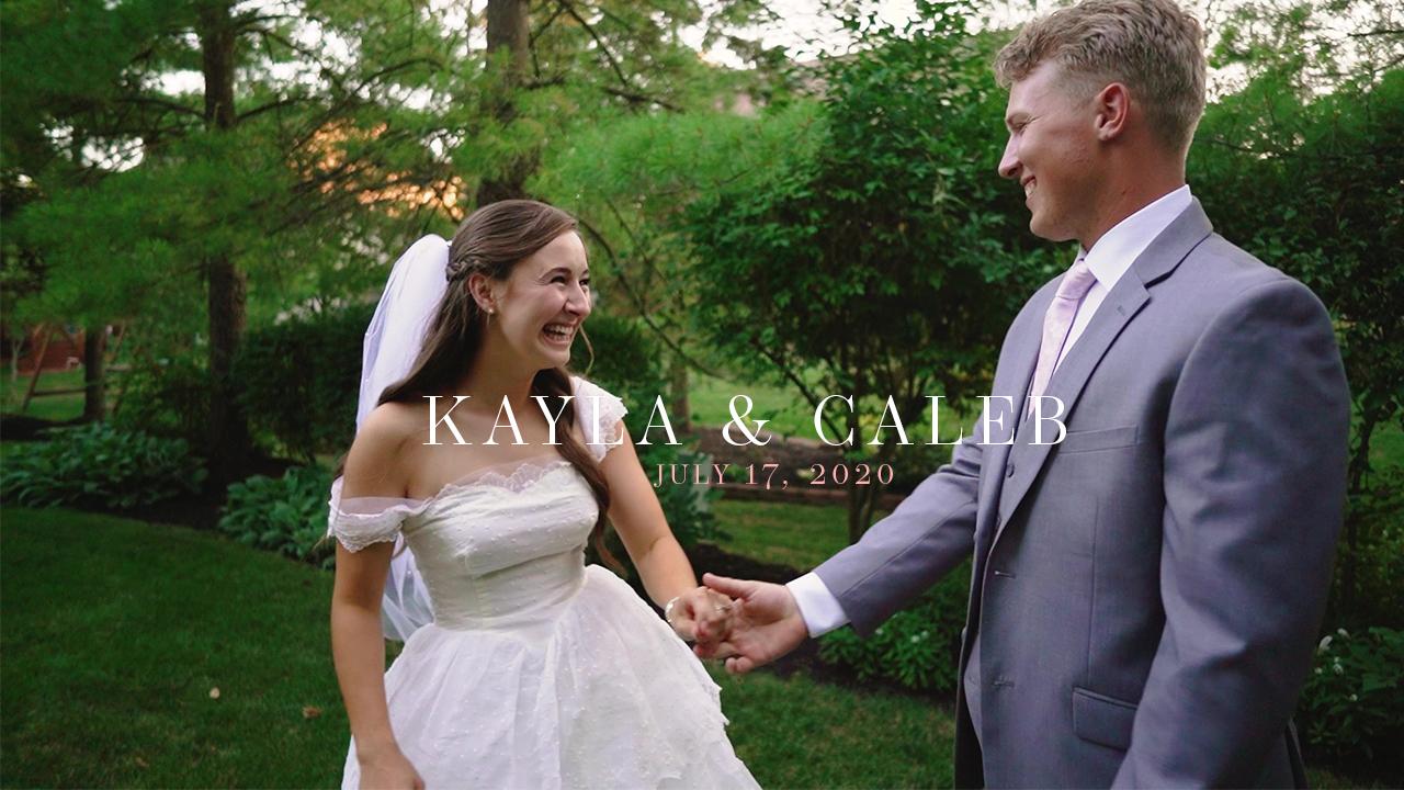 Kayla Roward + Caleb Naegele | Columbus, Ohio | Backyard