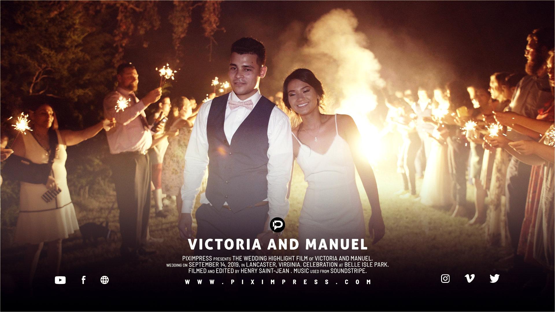 Victoria + Manuel | Lancaster, Virginia | Belle Isle State Park