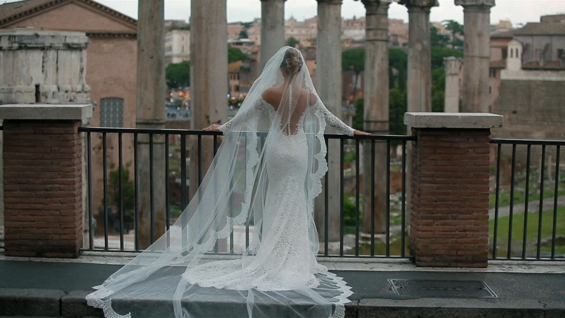 Luca + Anna Victoria | Rome, Italy | Villa Miani