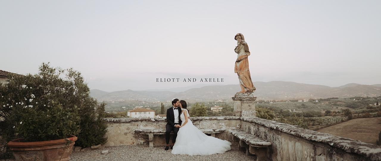 Eliott + Axelle | Metropolitan City of Florence, Italy | Villa Corsini a Mezzomonte