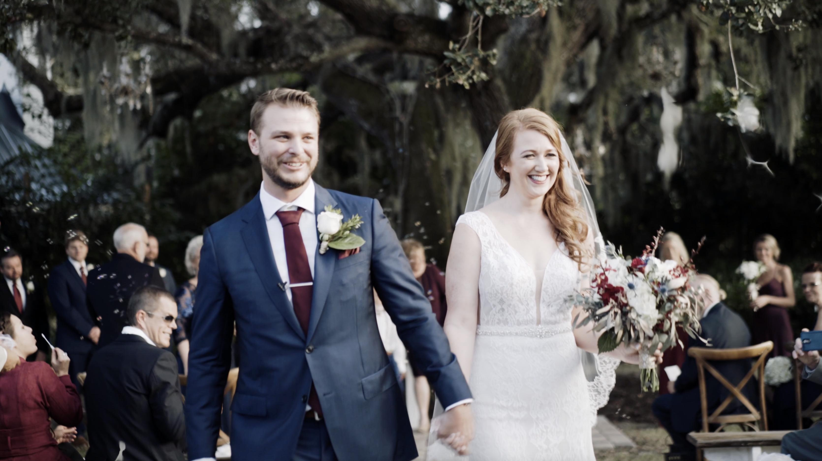 Melissa + Scott | Fort Pierce, Florida | The Lake House