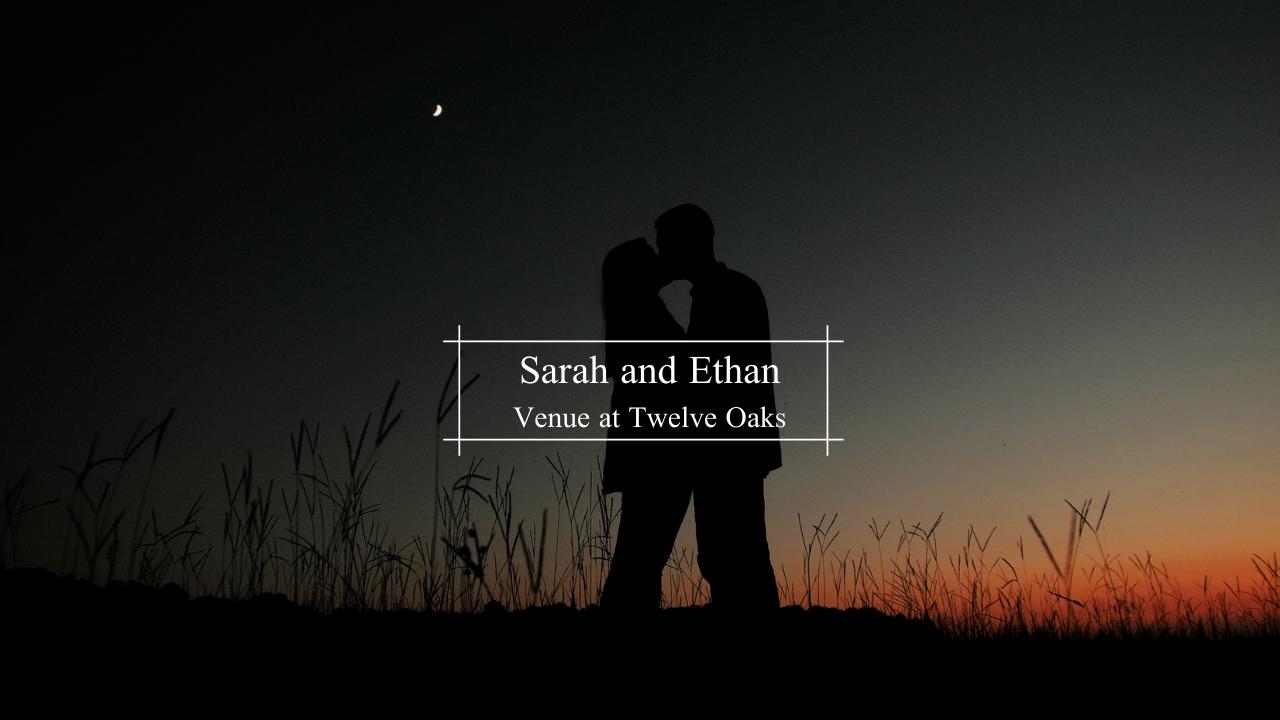 Sarah + Ethan | Hope, Arkansas | The Venue at Twelve Oaks