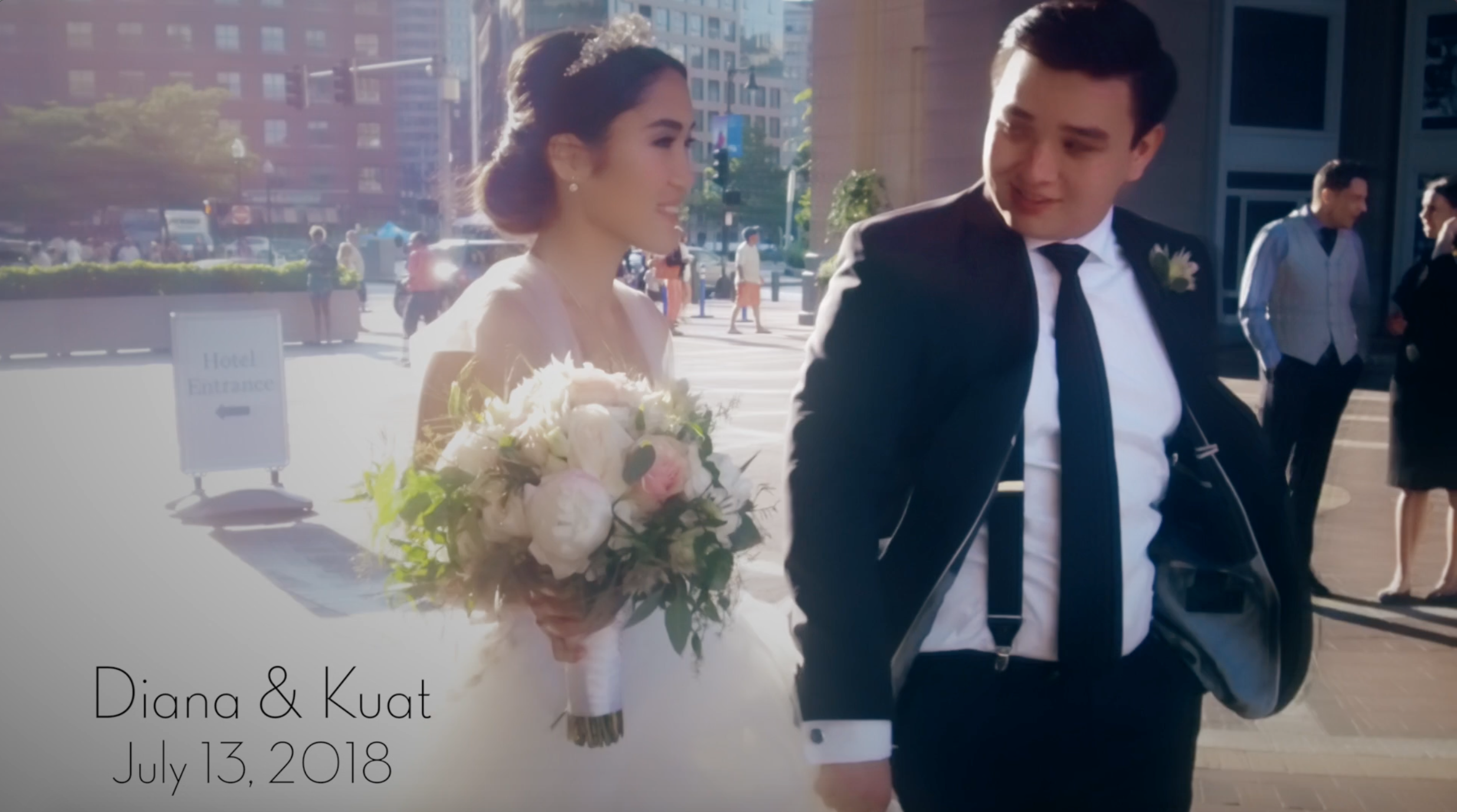Diana + Kuat | Boston, Massachusetts | Boston Harbor Hotel