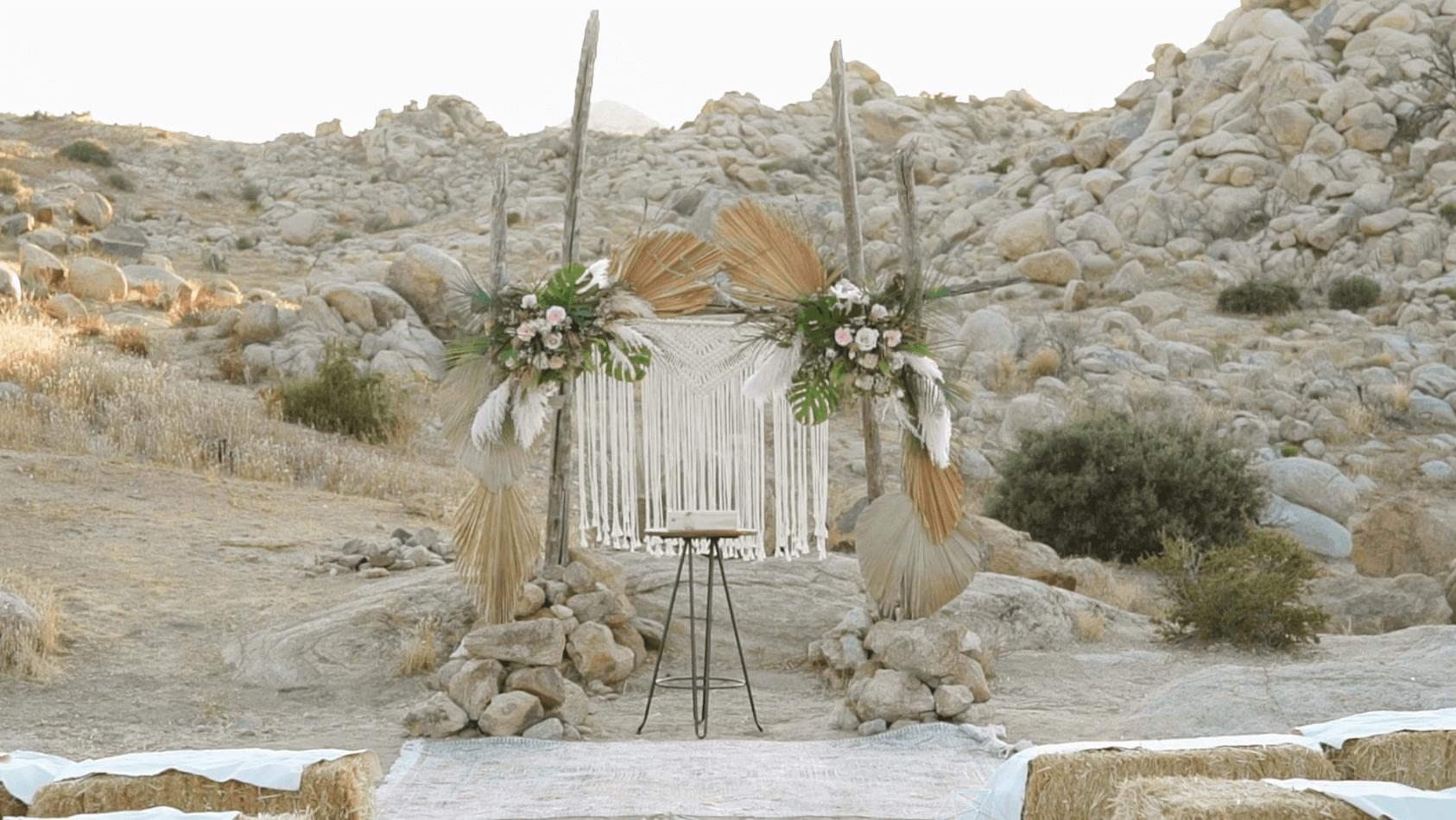 Krista + Ethan | Pioneertown, California | Le Haut Desert Aerie