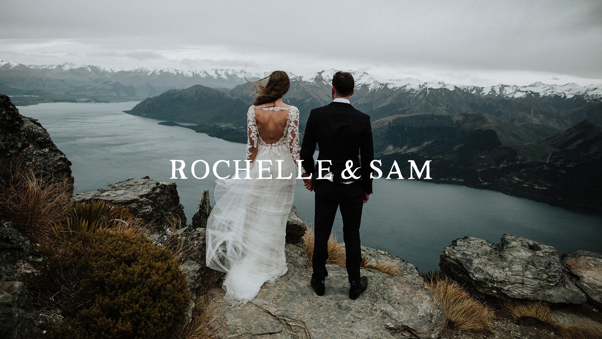 Rochelle + Sam | Queenstown, New Zealand | Cecil Peak