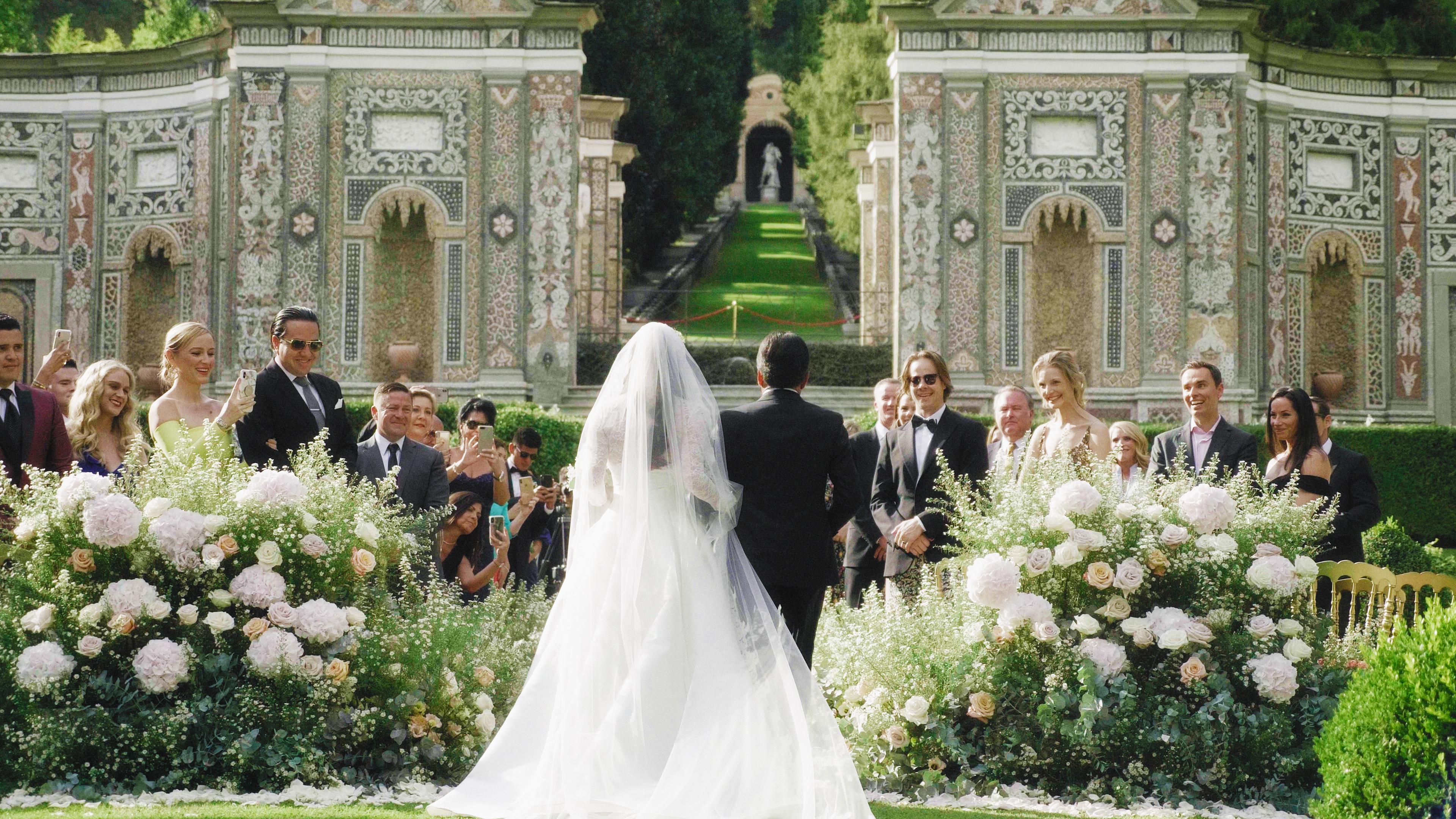 Lisa + Dean | Province of Como, Italy | villa D'este
