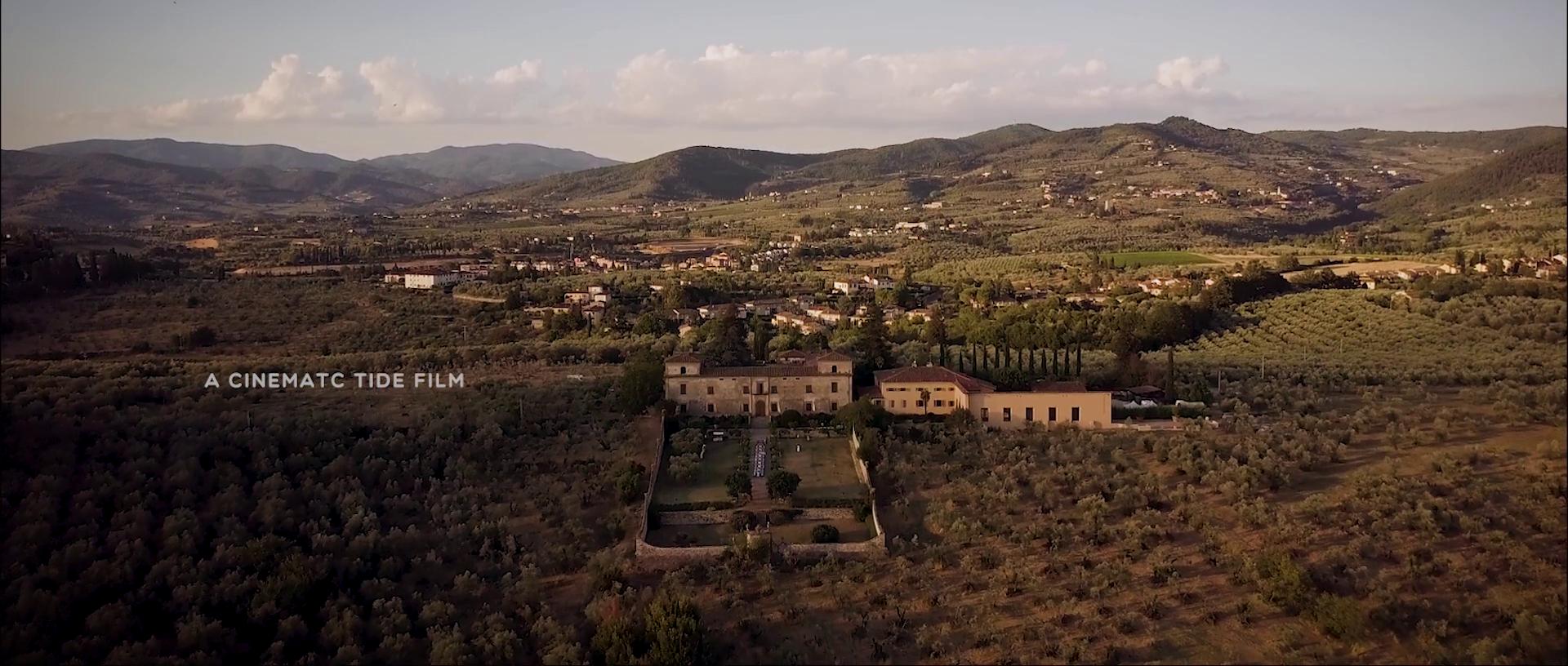 Brittany + Jesse | Tuscany, Italy | VVilla Medicea di Lilliano