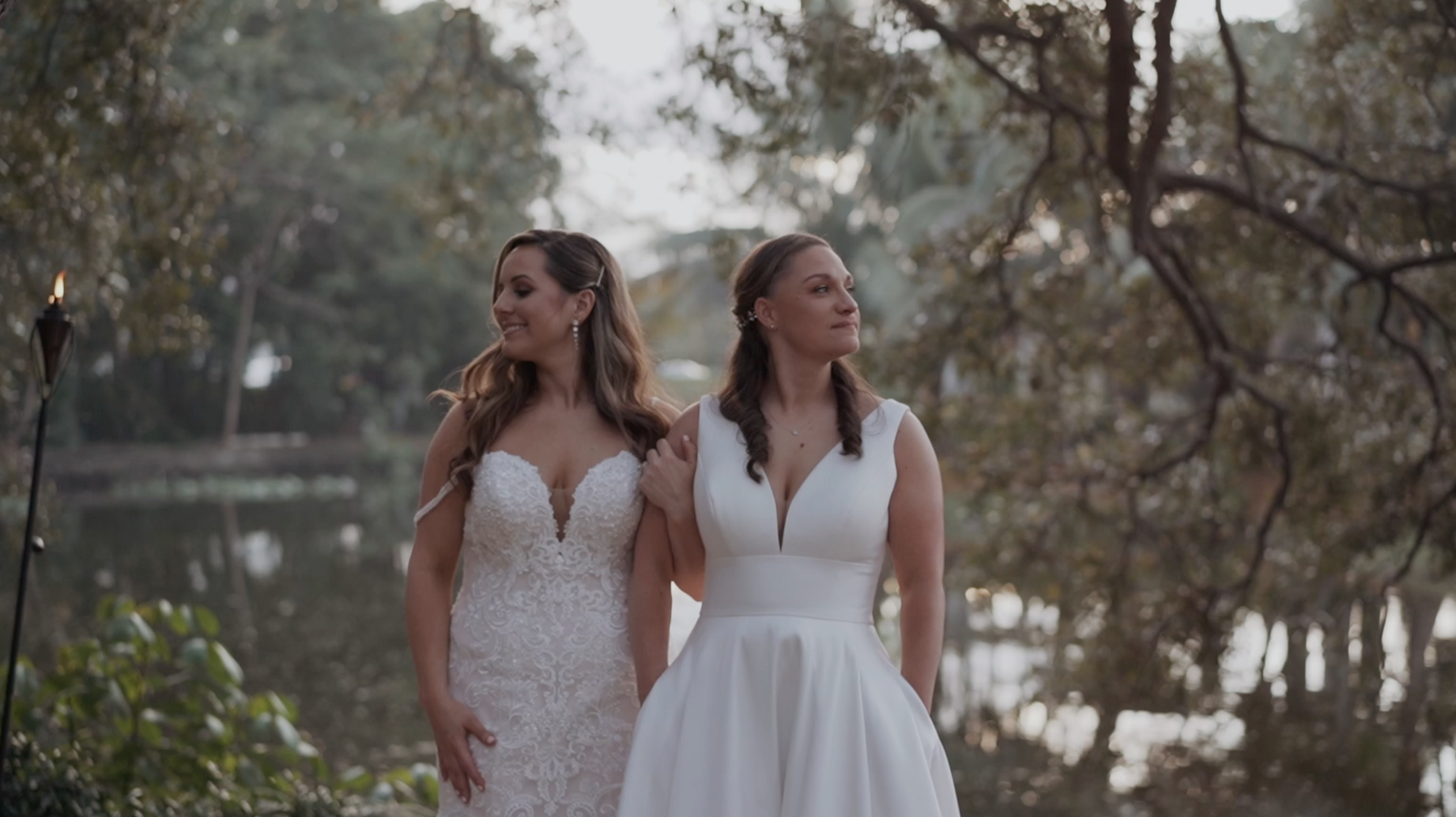 Lauren + Vanessa | Davie, Florida | Living Sculpture Sanctuary