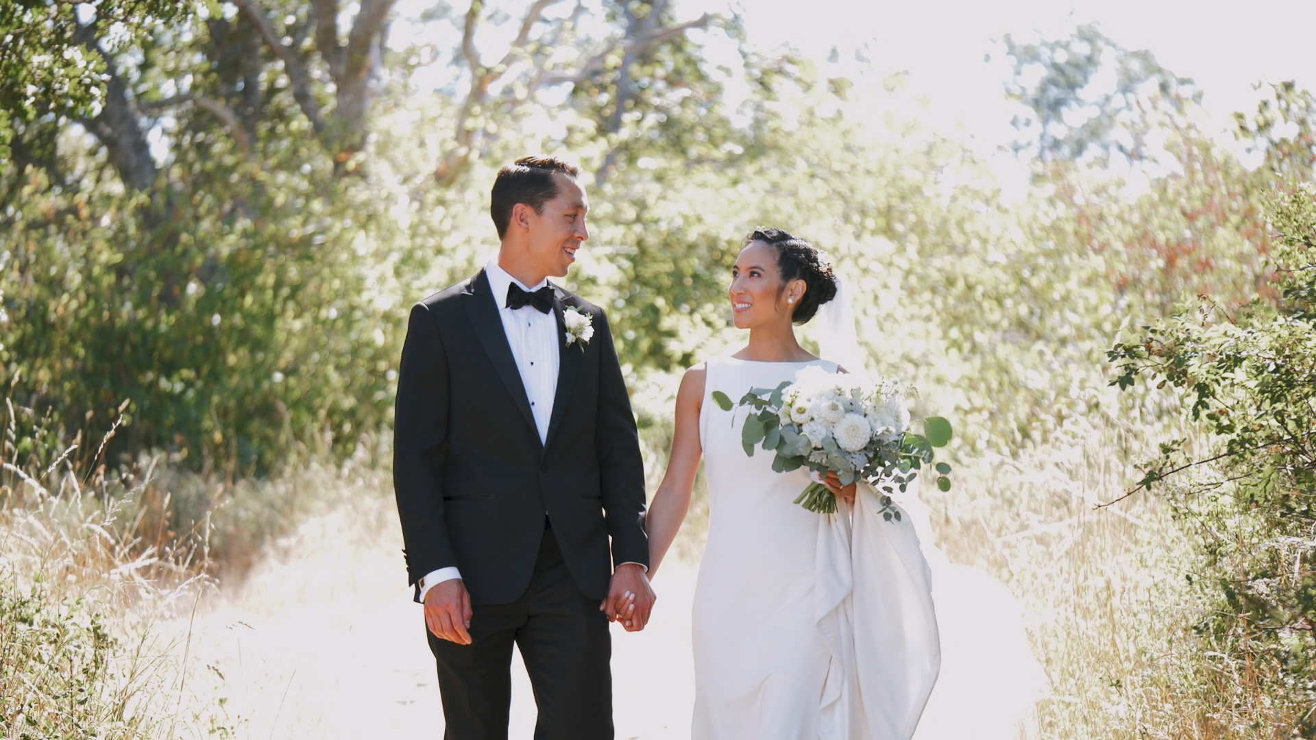 Stephanie + Steven   Victoria, Canada   Bride's Family Home