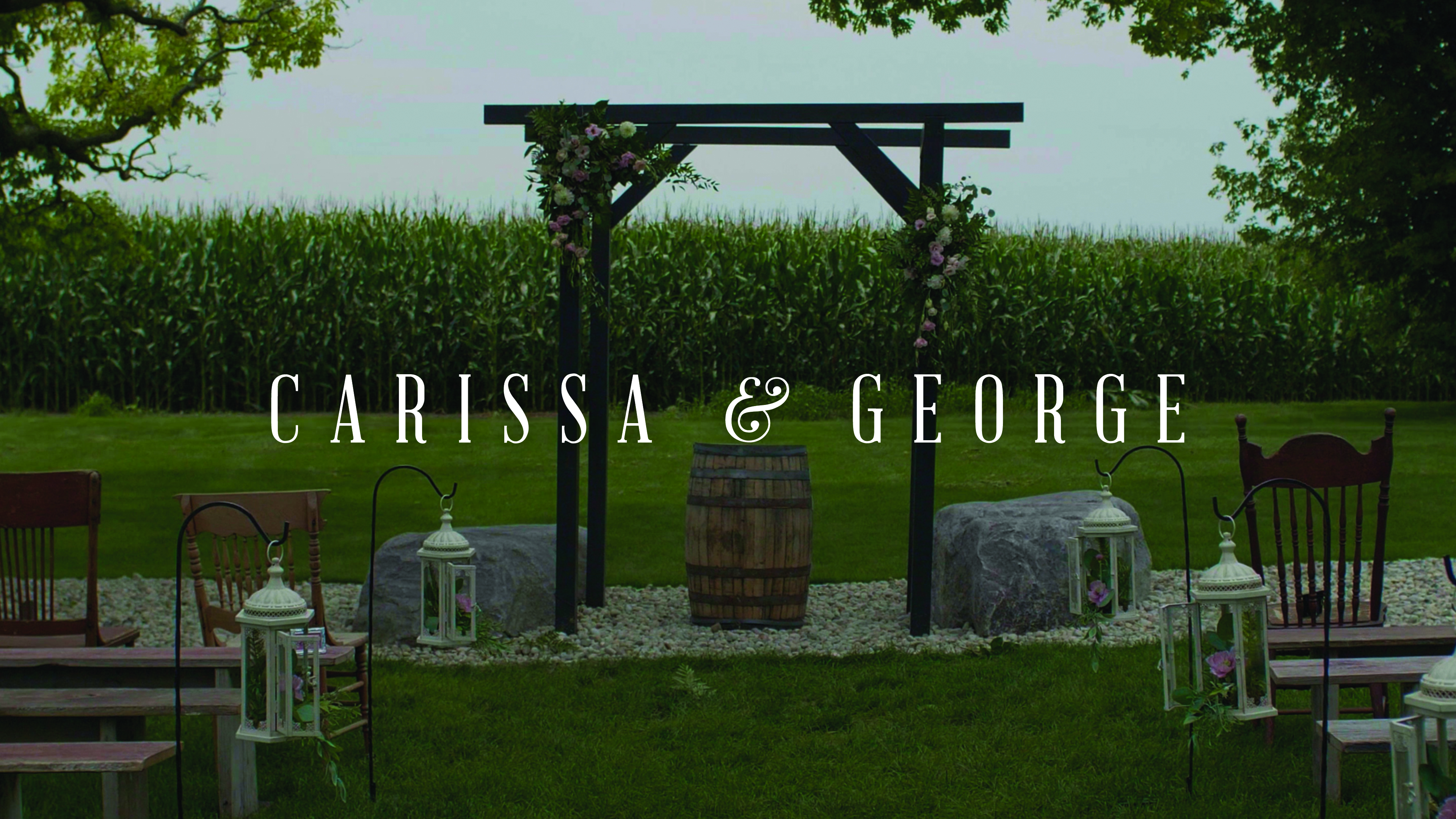Carissa + George | Oconomowoc, Wisconsin | The Barn at Trinity Peak, Oconomowoc