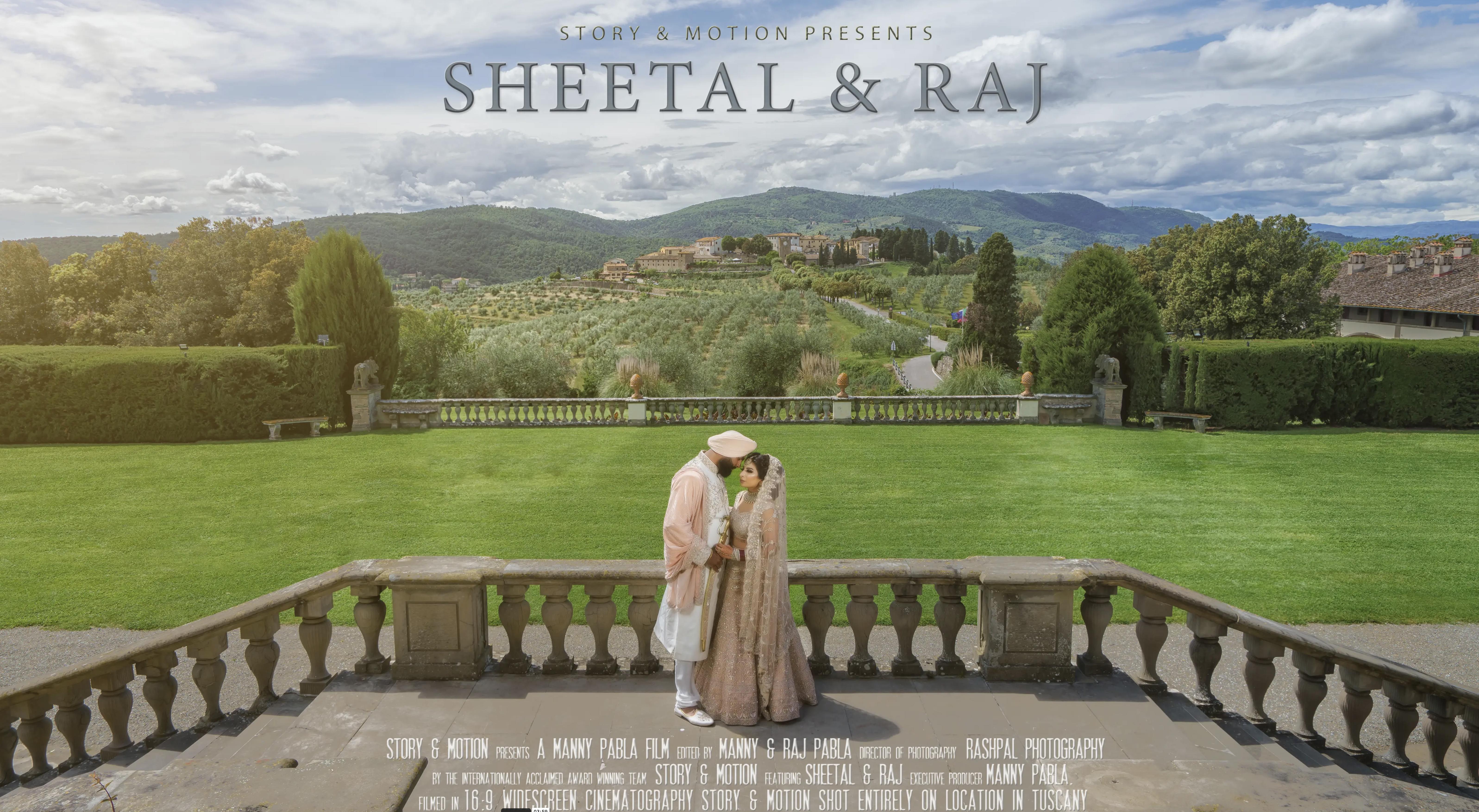 Sheetal + Raj | Tuscany, Italy | Villa Artimino