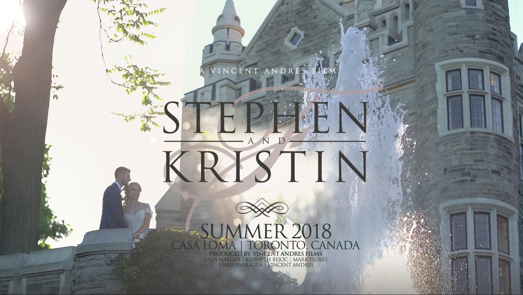 Kristin + Stephen | Toronto, Canada | Casa Loma