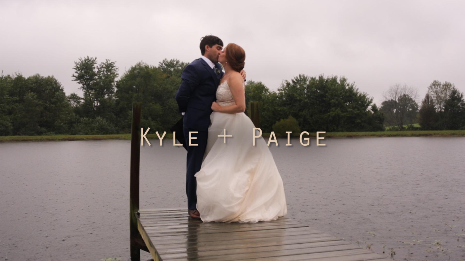 Kyle + Paige | Elizabethtown, Kentucky | The Brides Parents Farm