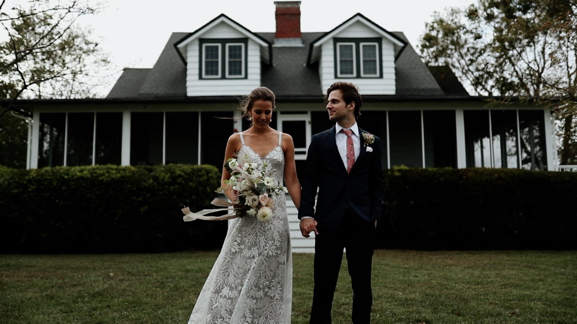 Colin + Caroline | Gloucester, Virginia | The Island