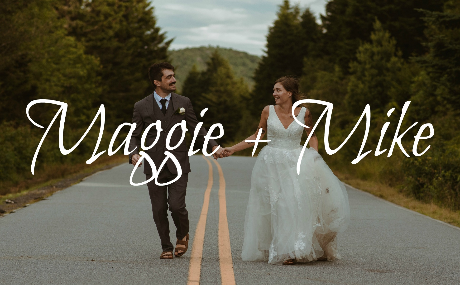Maggie + Mike | Asheville, North Carolina | mountain