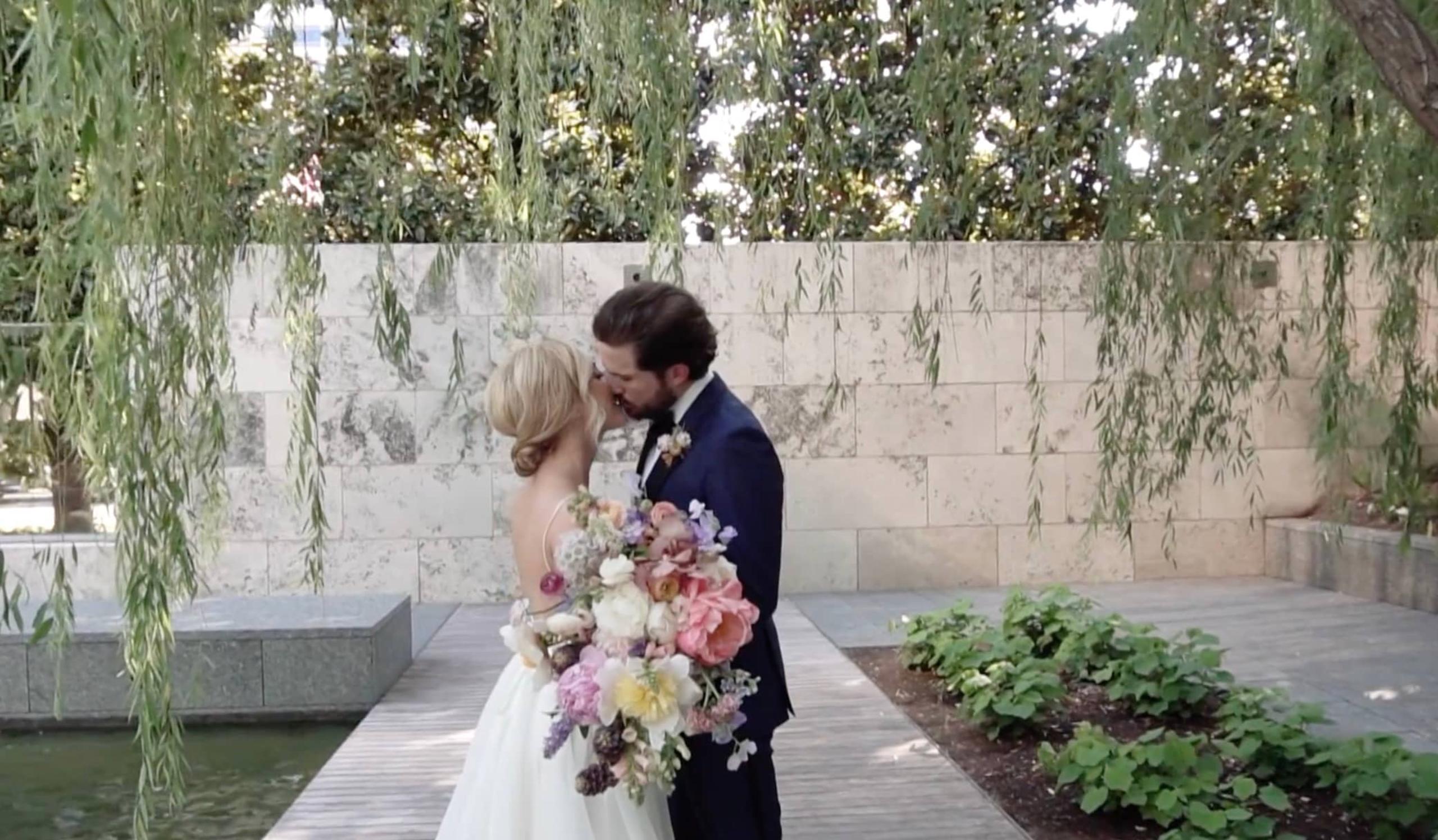 Abby + Robert | Dallas, Texas | The Nasher Sculpture Garden