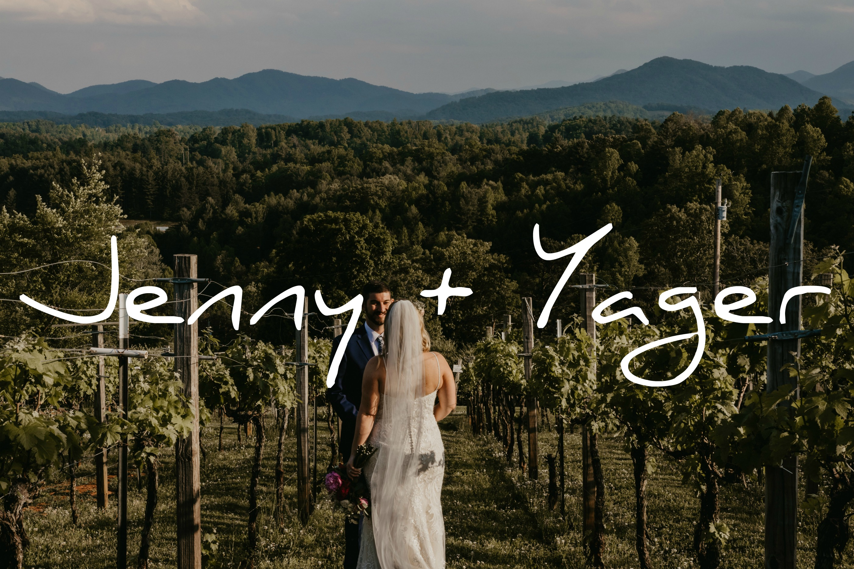 Jenny + Yager | Marshall, North Carolina | Longleaf Vineyards
