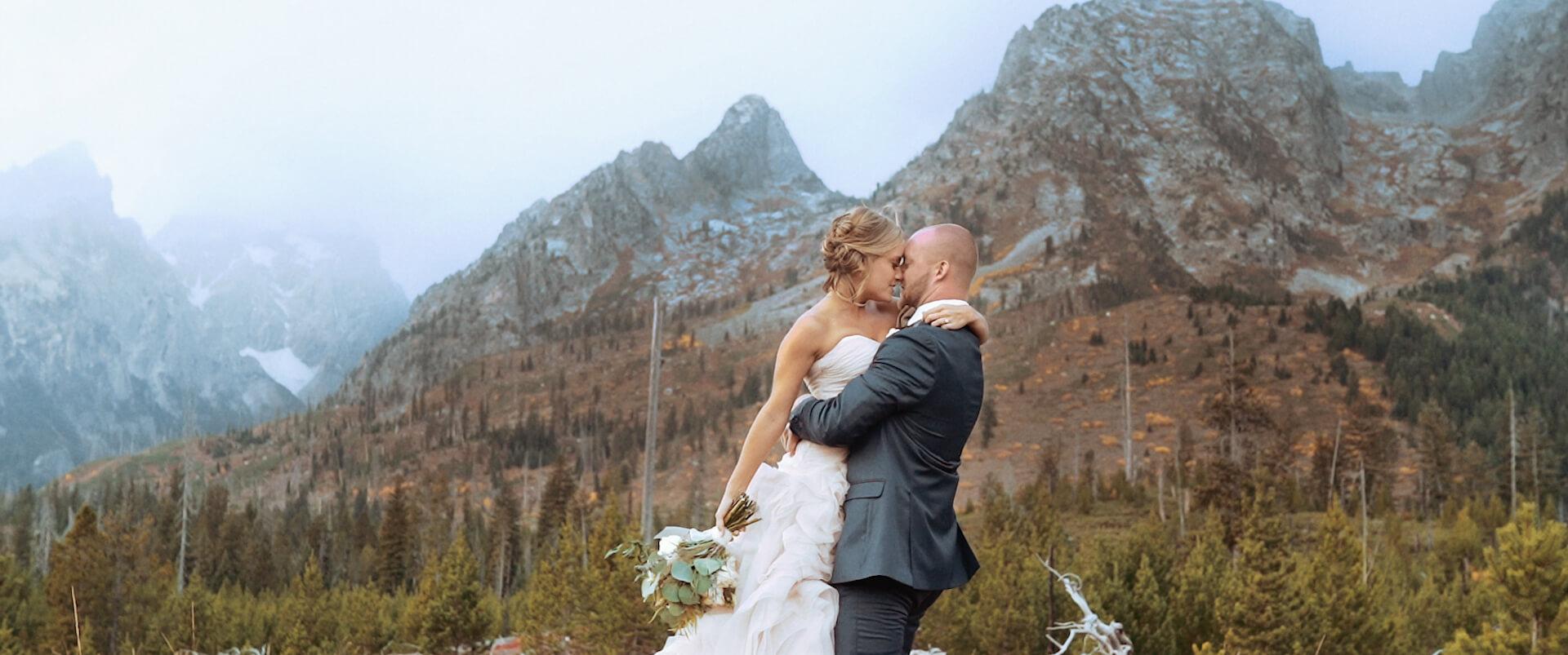 Sam + Brittany | Wyoming, Wyoming | Grand Tetons National Park