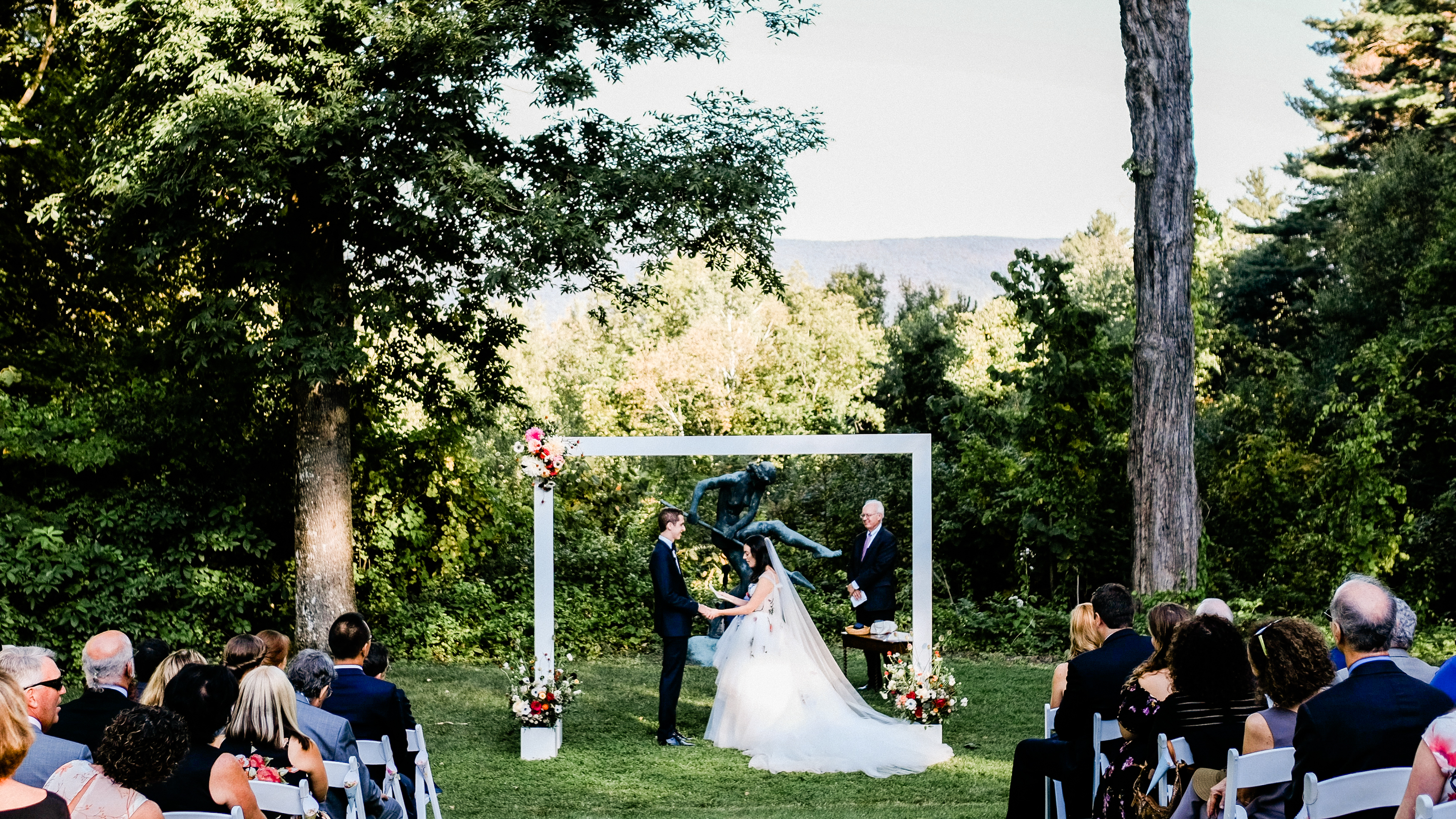 Michelle + Mike | Manchester, Vermont | Southern Vermont Arts Center