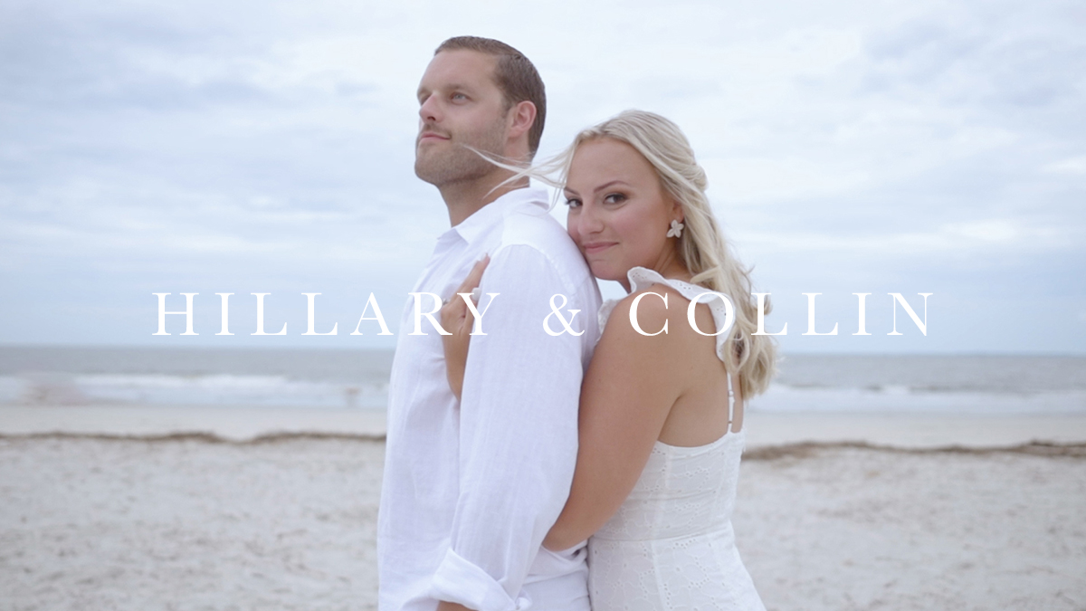 Hillary + Collin | Hilton Head Island, South Carolina | Tower Beach