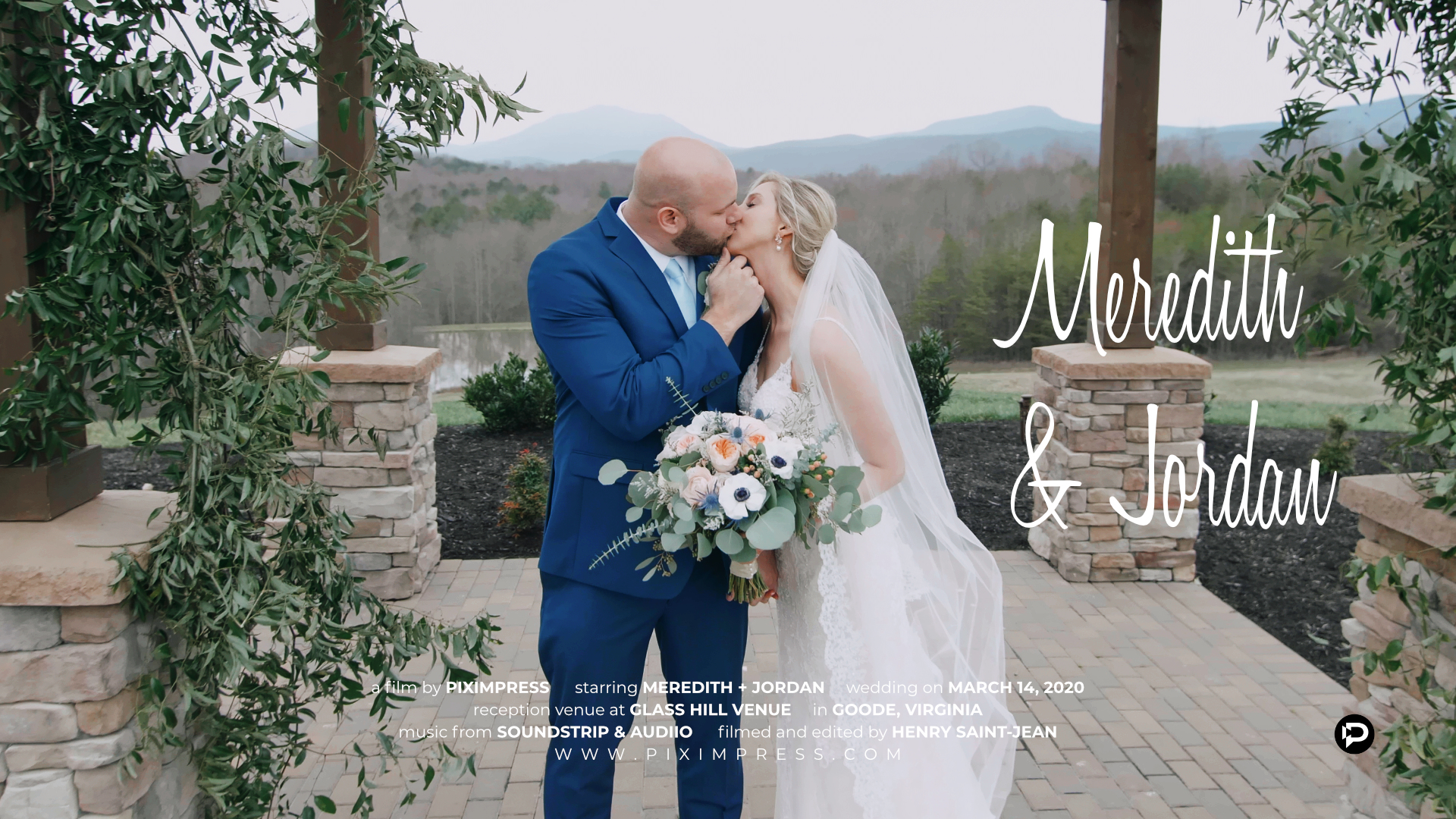 Meredith + Jordan | Goode, Virginia | Glass Hill Venue