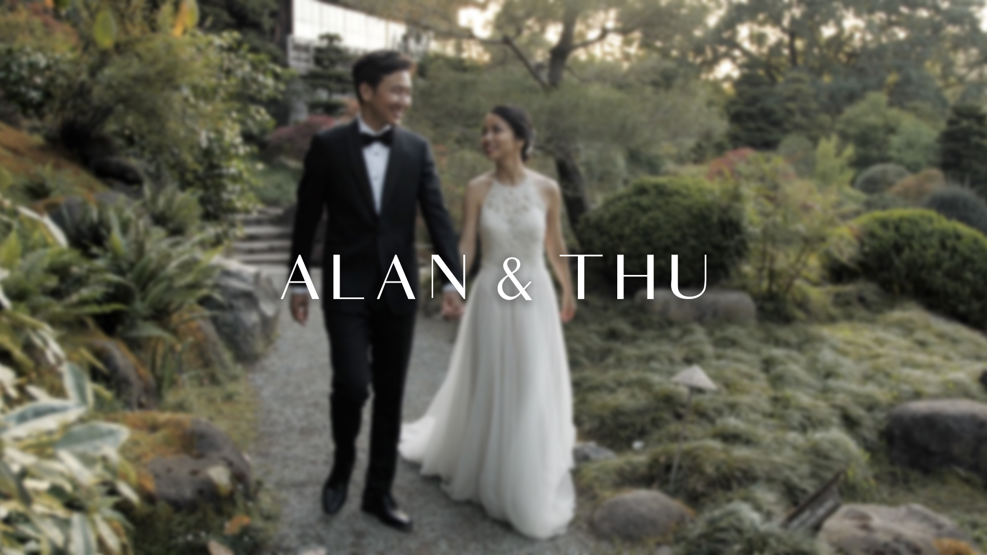 Alan + Thu | Saratoga, California | Hakone Estate Gardens