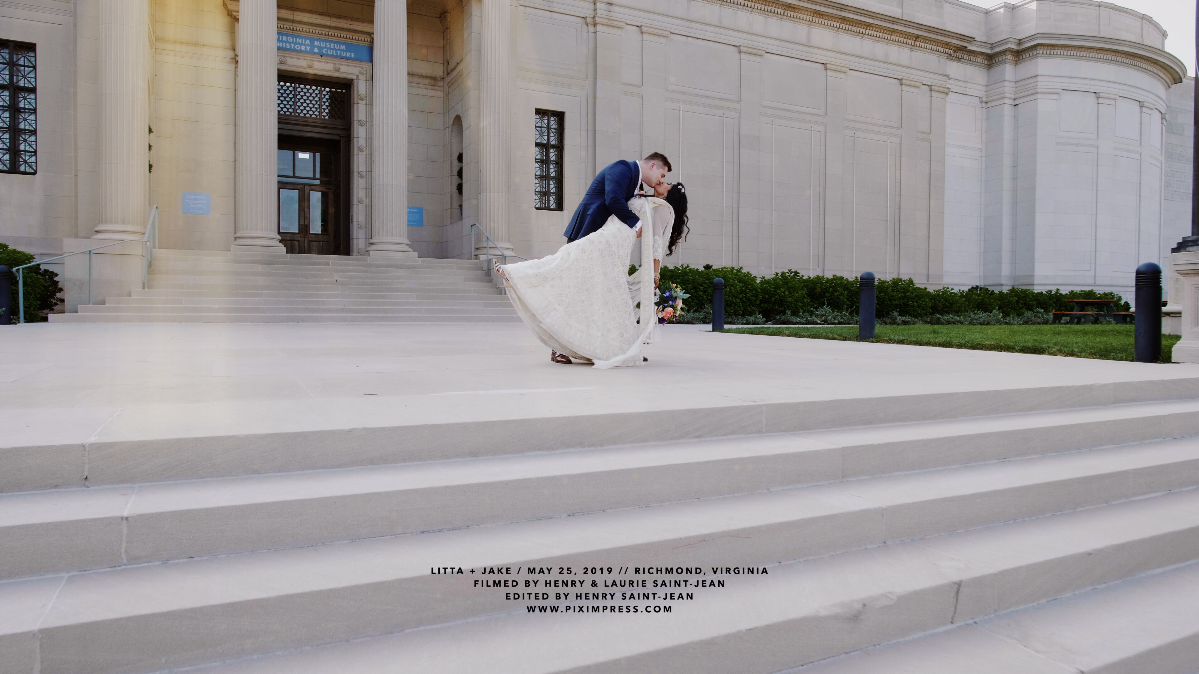 Litta + Jake | Richmond, Virginia | Virginia Museum of History and Culture