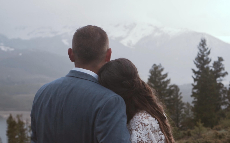 Kierra + Derek | Breckenridge, Colorado | Sapphire Point Overlook