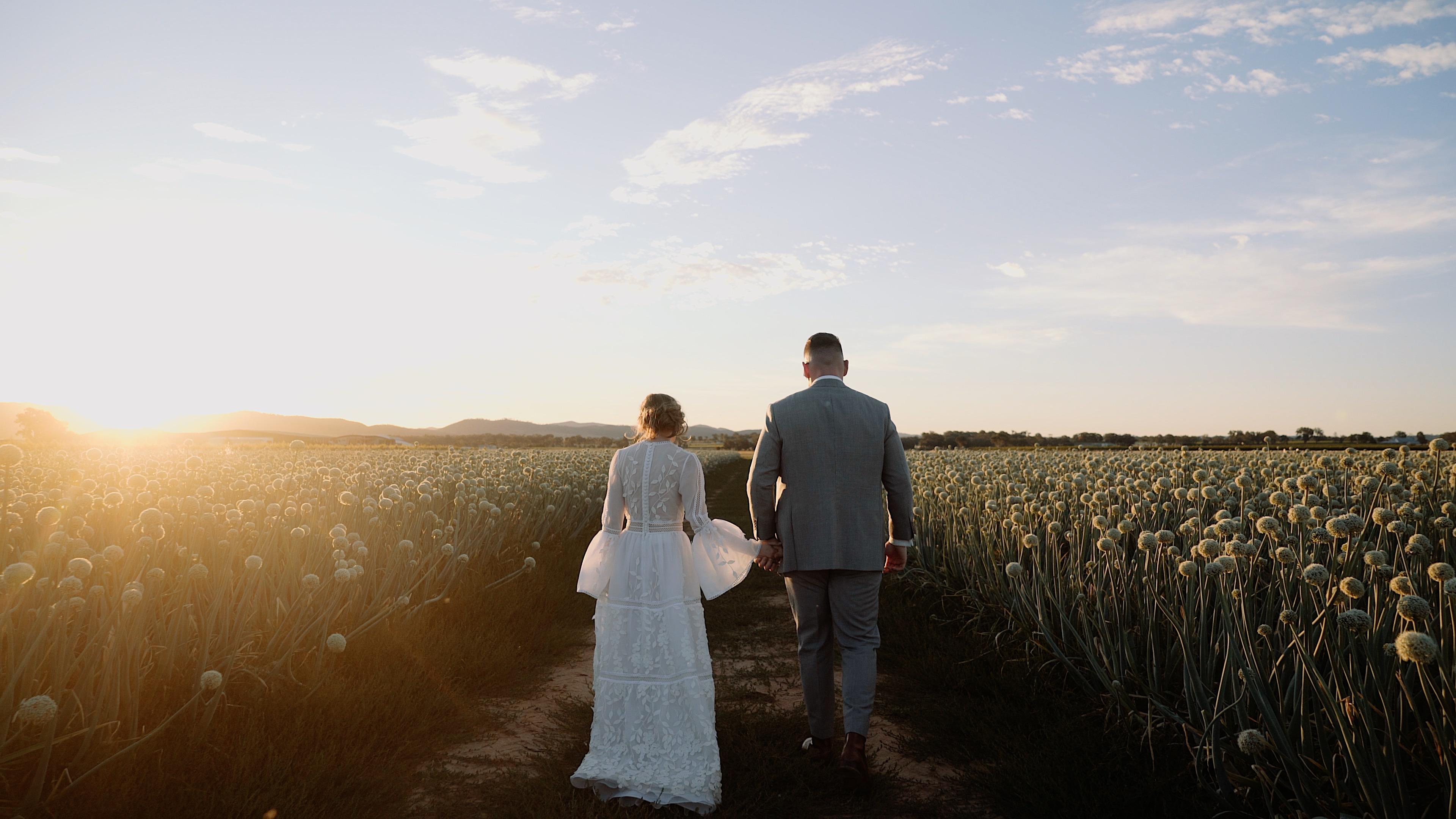 Brittney + Luke | Mudgee, Australia | Blue Wren