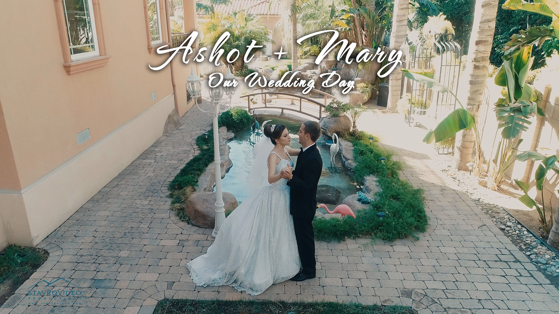 Ashot + Mary | Glendale, California | Palladio banquet hall