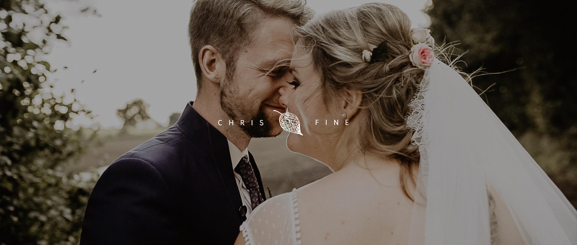 Chris + Fine | hamburg, Germany | The Brides Parents Farm