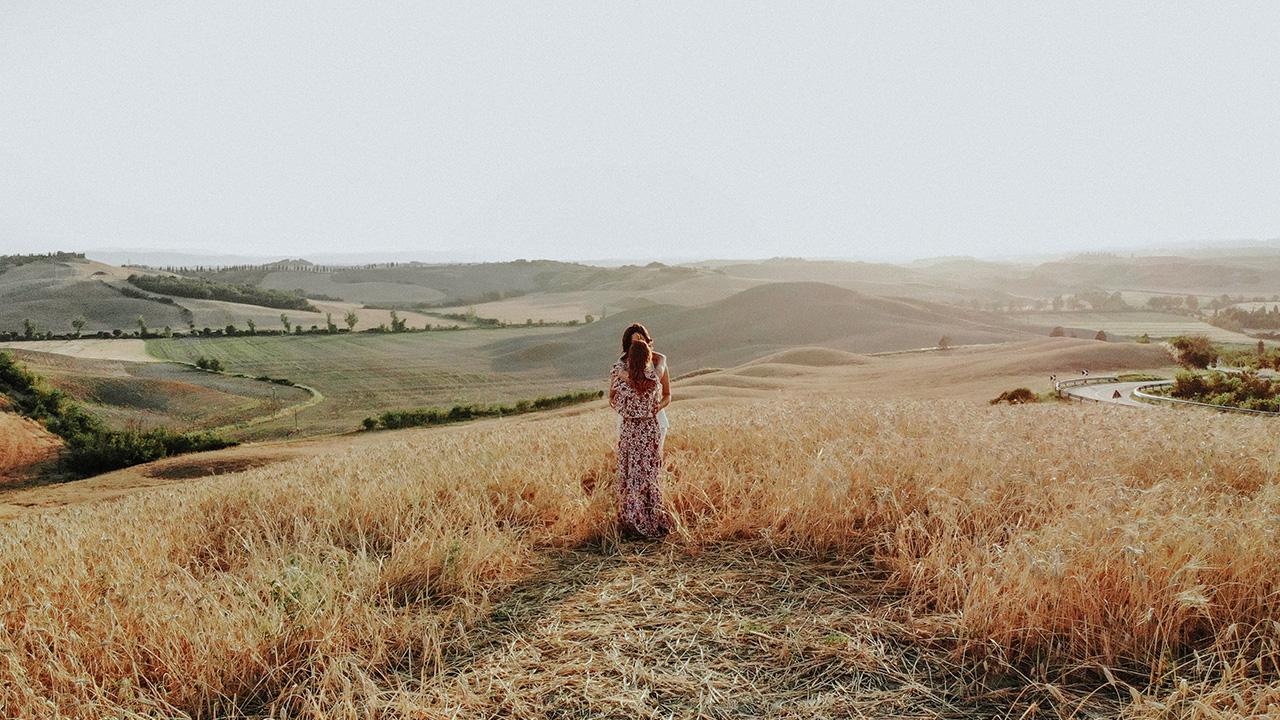 Giulia + Marilu | Tuscany, Italy | a Farmhouse