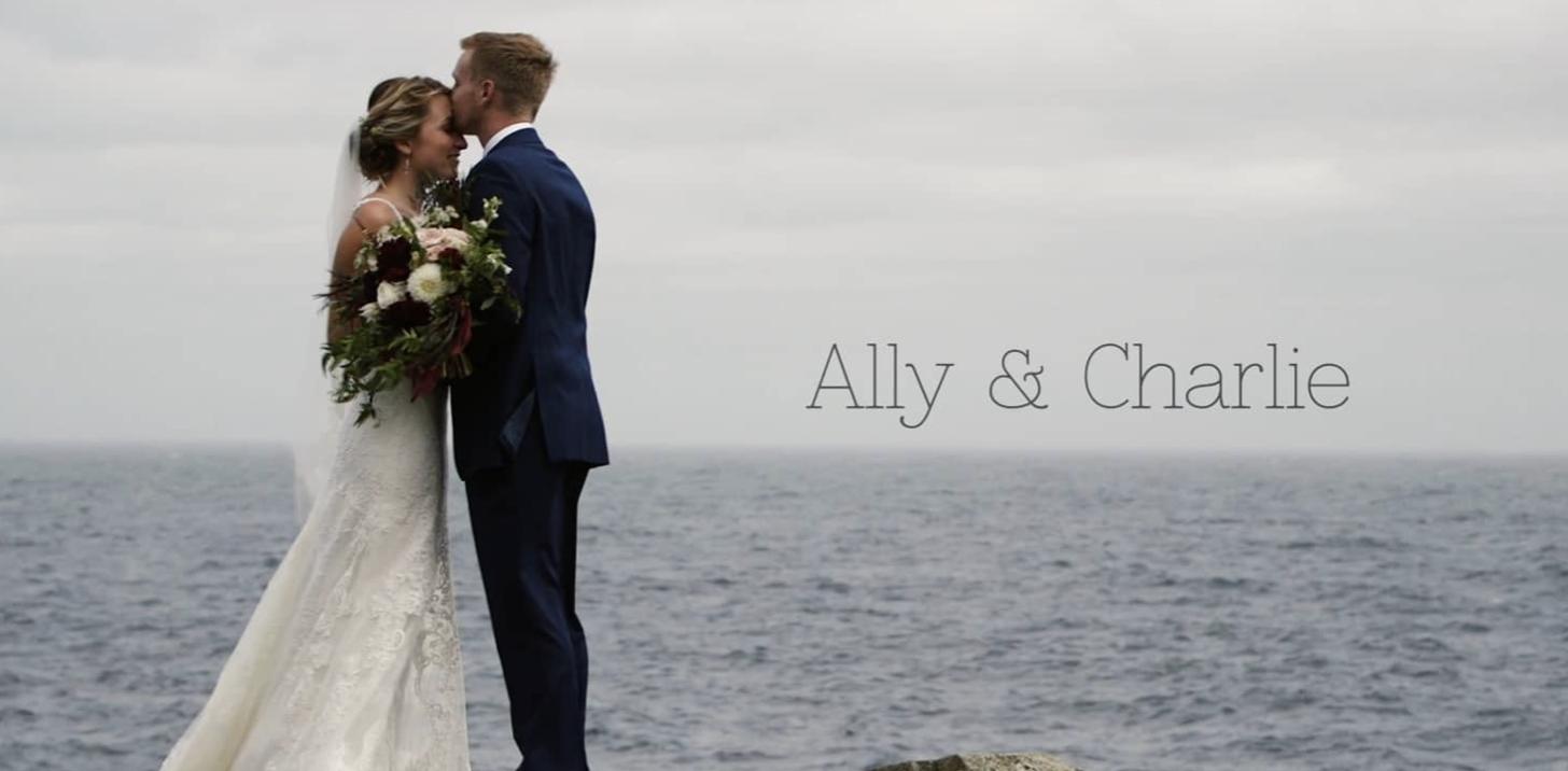Ally + Charlie | Ogunquit, Maine | The Cliff House
