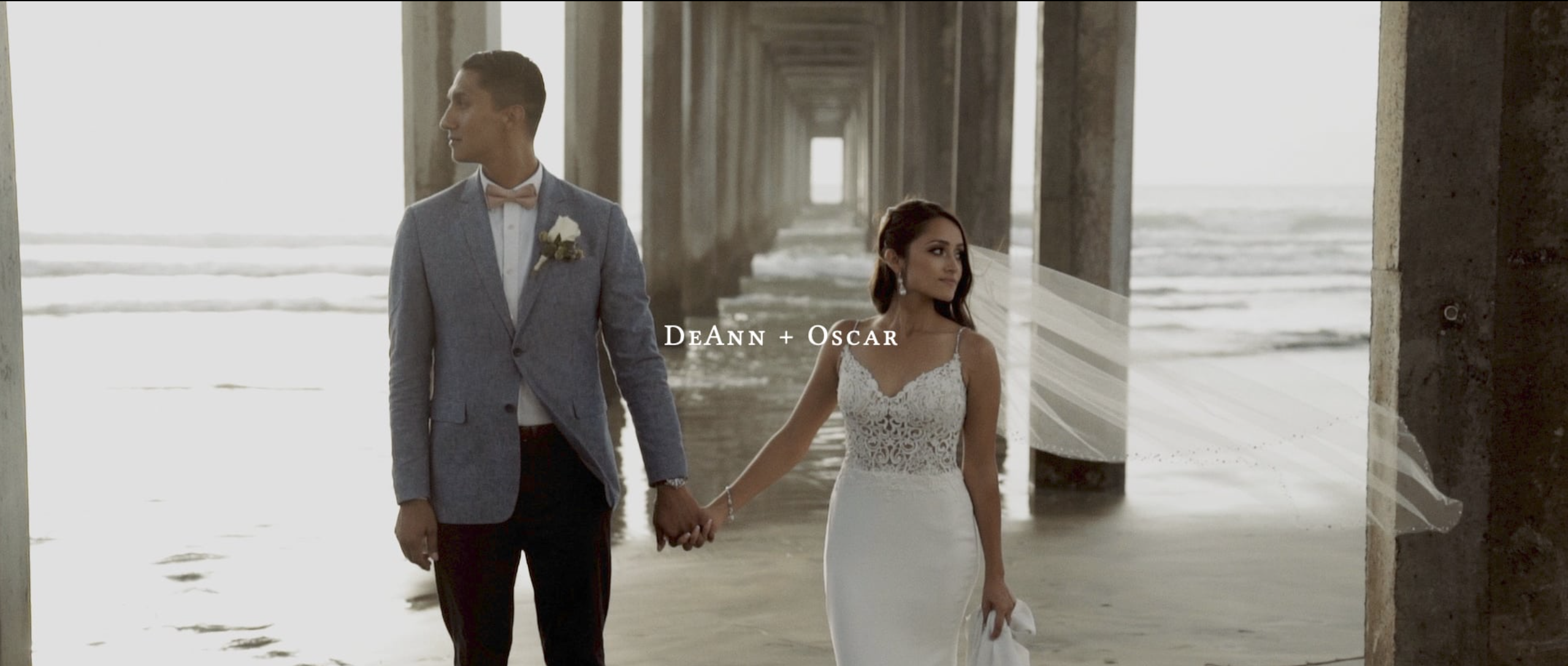 DeAnna + Oscar | San Diego, California | Scripps Seaside Forum, San Diego