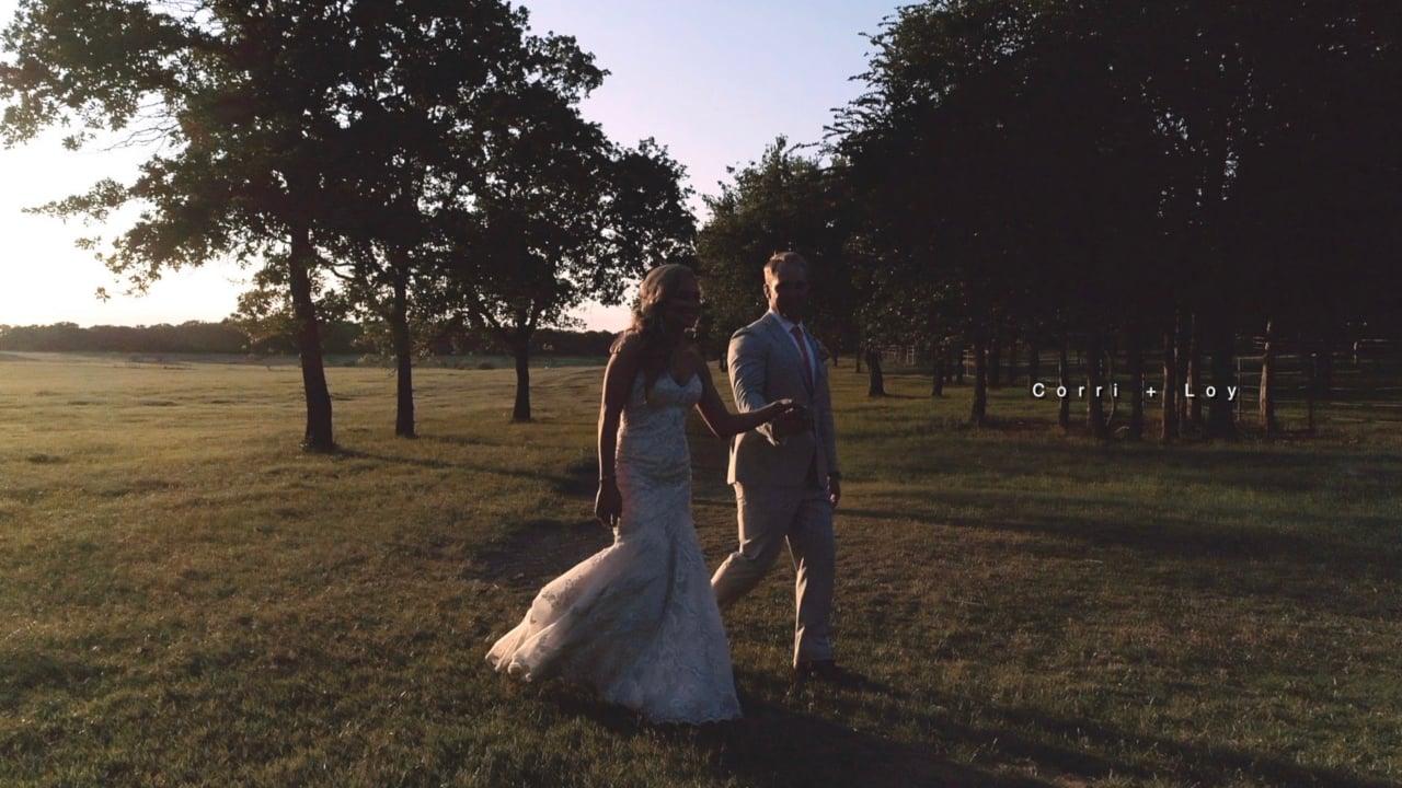 Corry + Loy | Auburn, Texas | Classic Oaks Ranch