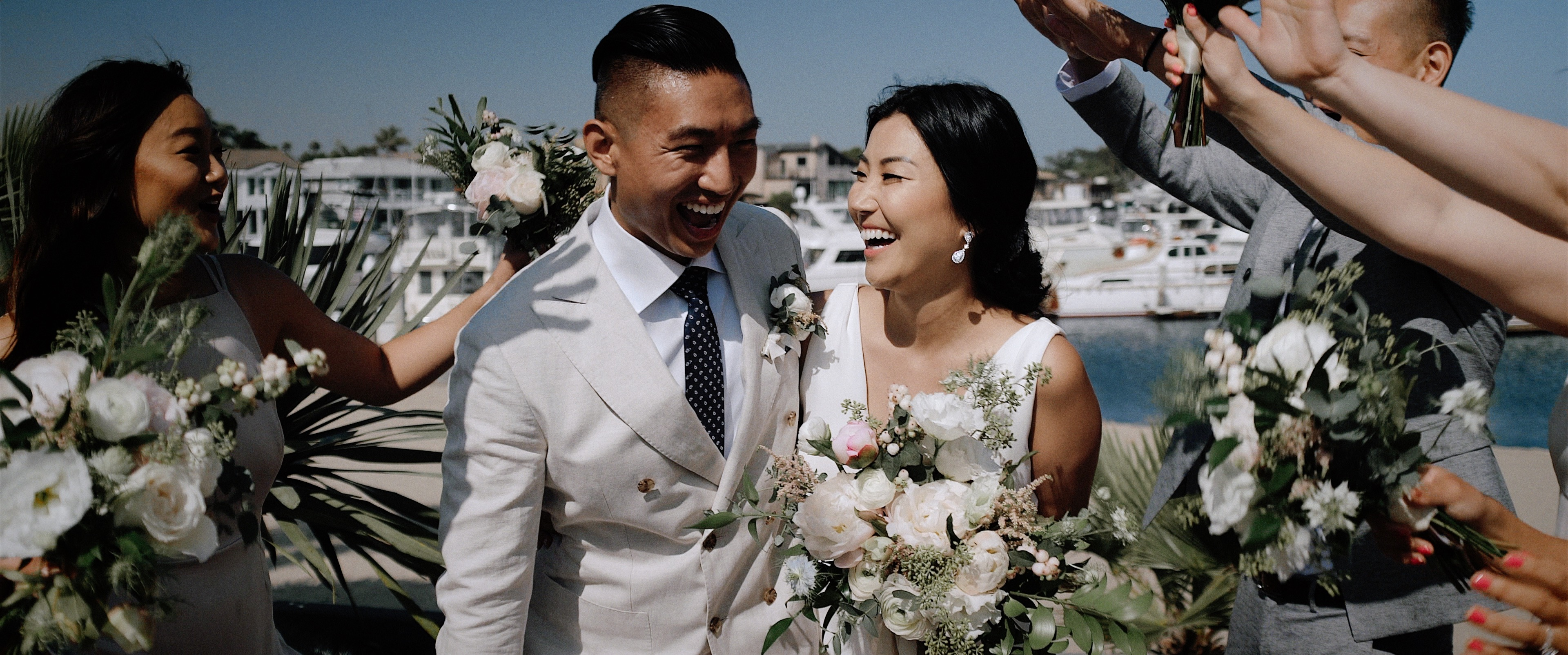 MJ Kim + Lloyd Pak | Huntington Beach, California | Huntington Bay Club