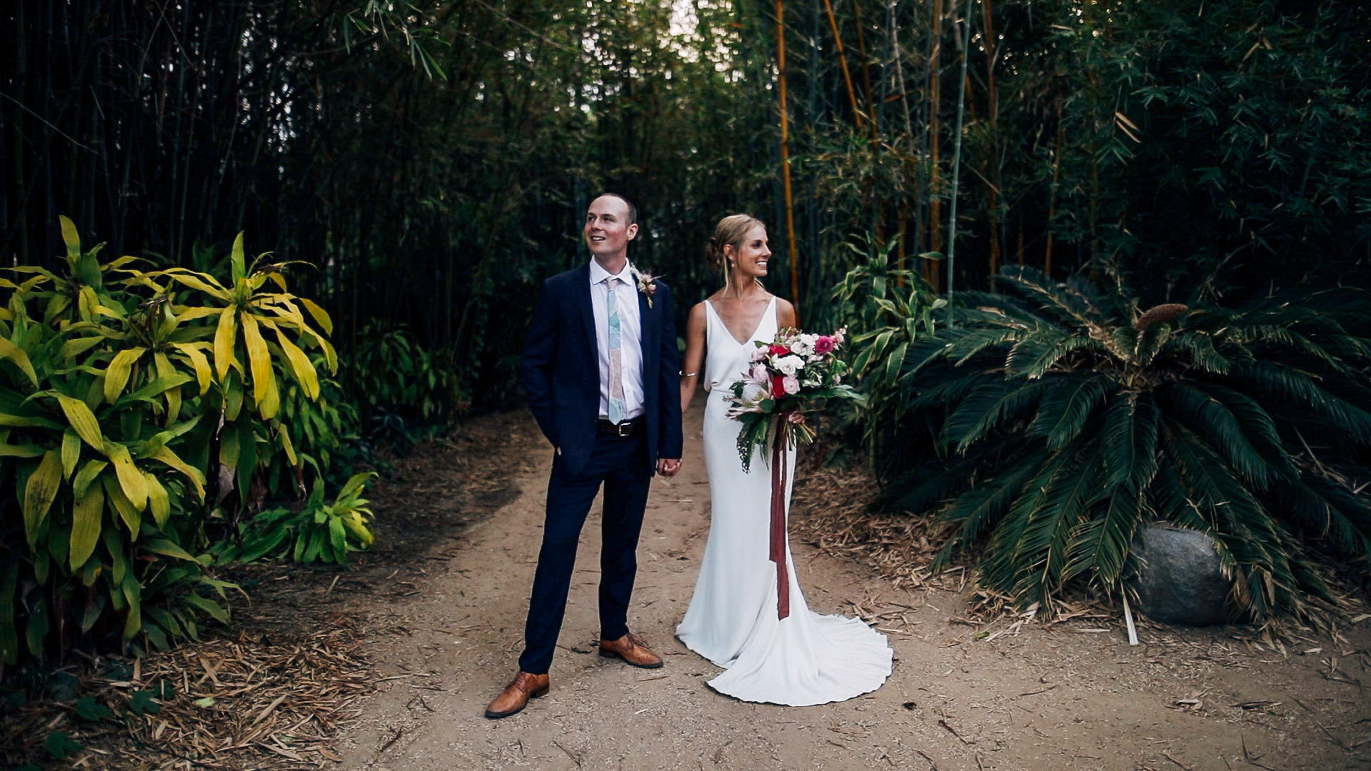 Lyndsey + Nick | San Diego, California | San Diego Botanical Gardens