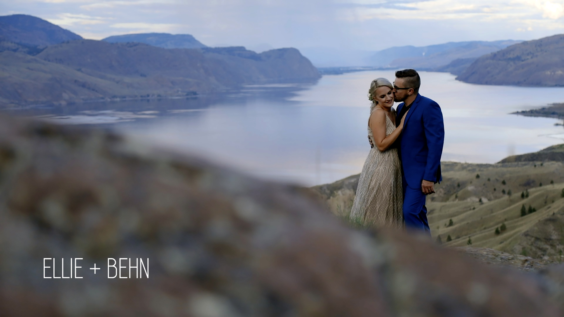 Ellie + Behn | Kamloops, Canada | Kamloops Lake