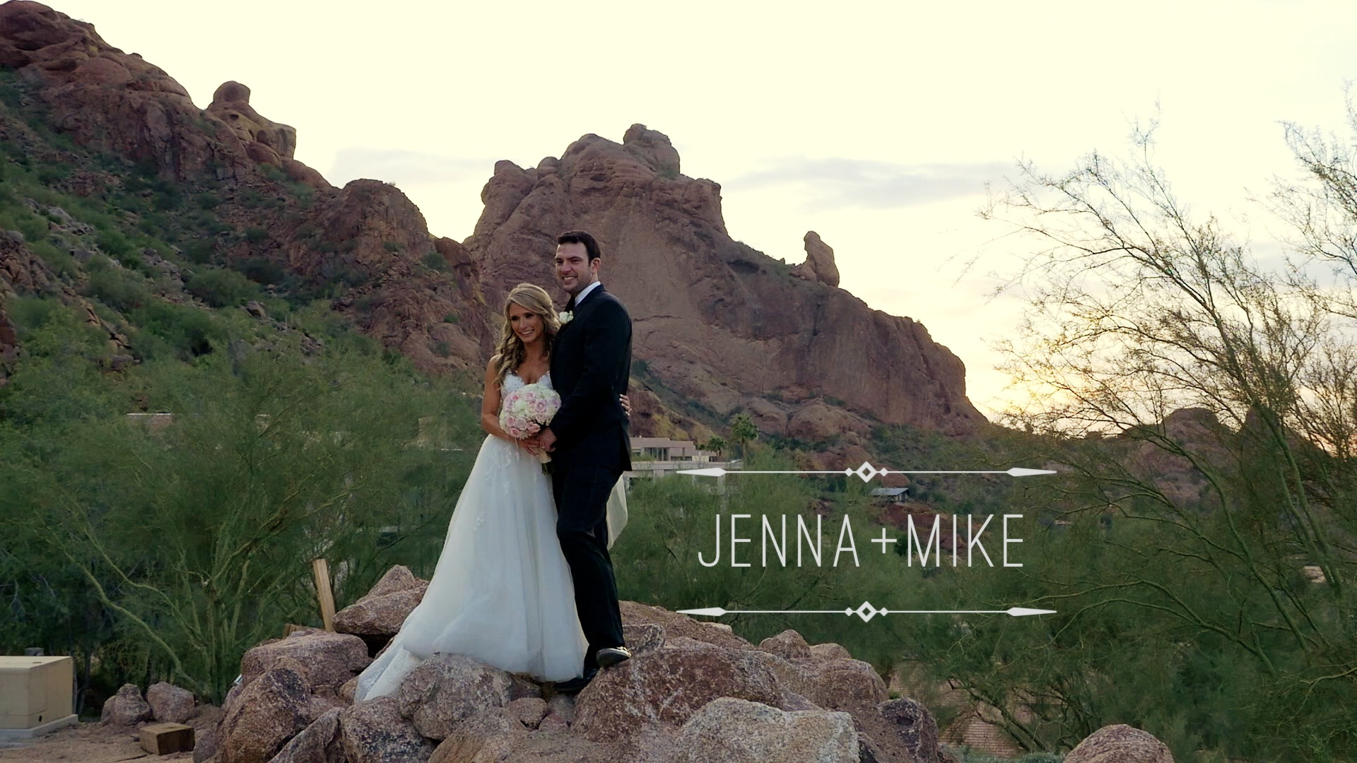 Jenna + Mike | Paradise Valley, Arizona | Sancuary at Camelback Mountain