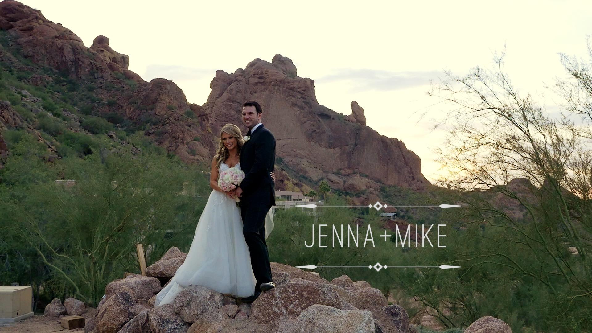 Jenna + Mike | Paradise Valley, Arizona | Sancuary at Camelback Mountain