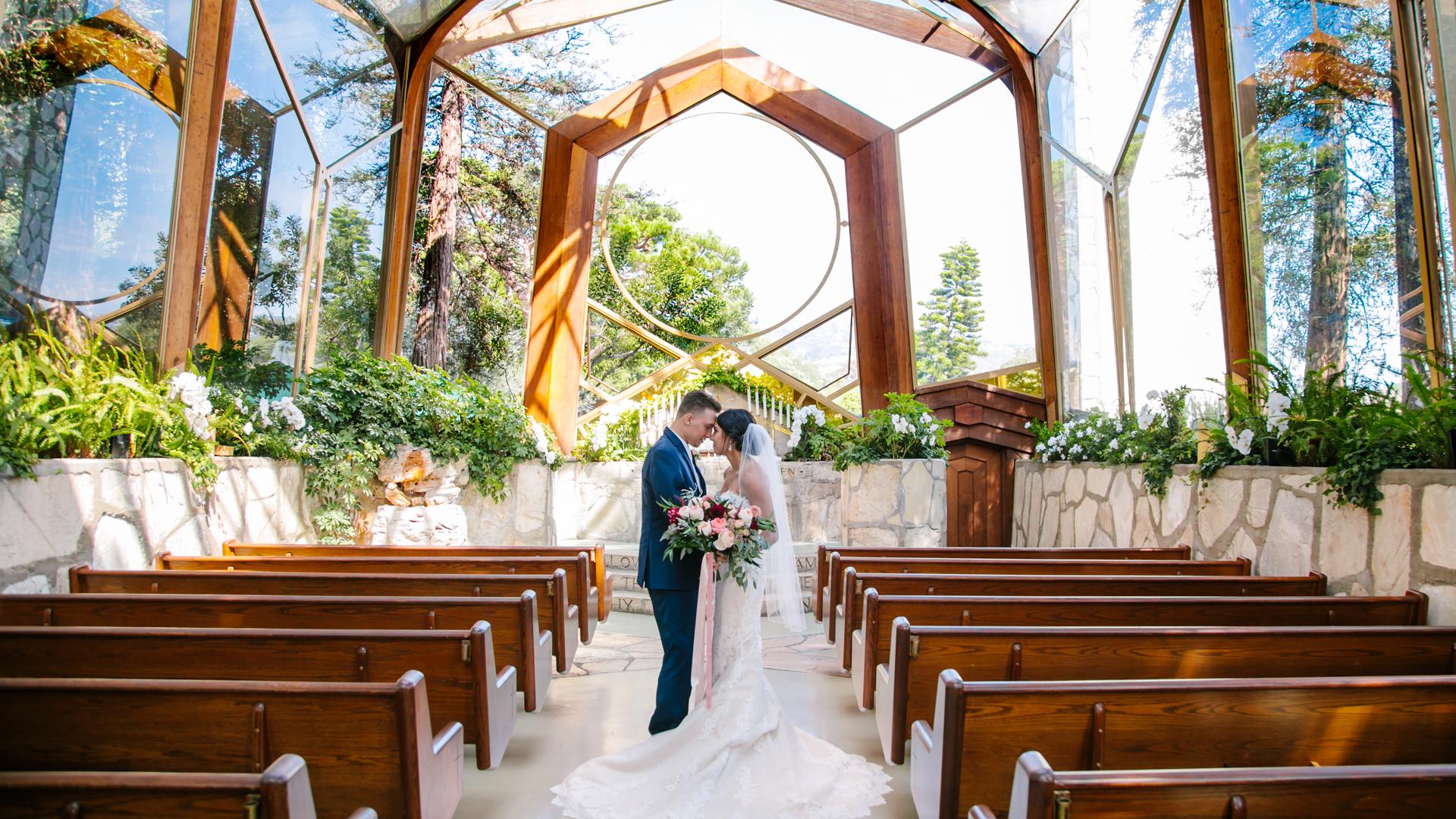 Bella + Osiel | 90731, California | Wayfarers Chapel