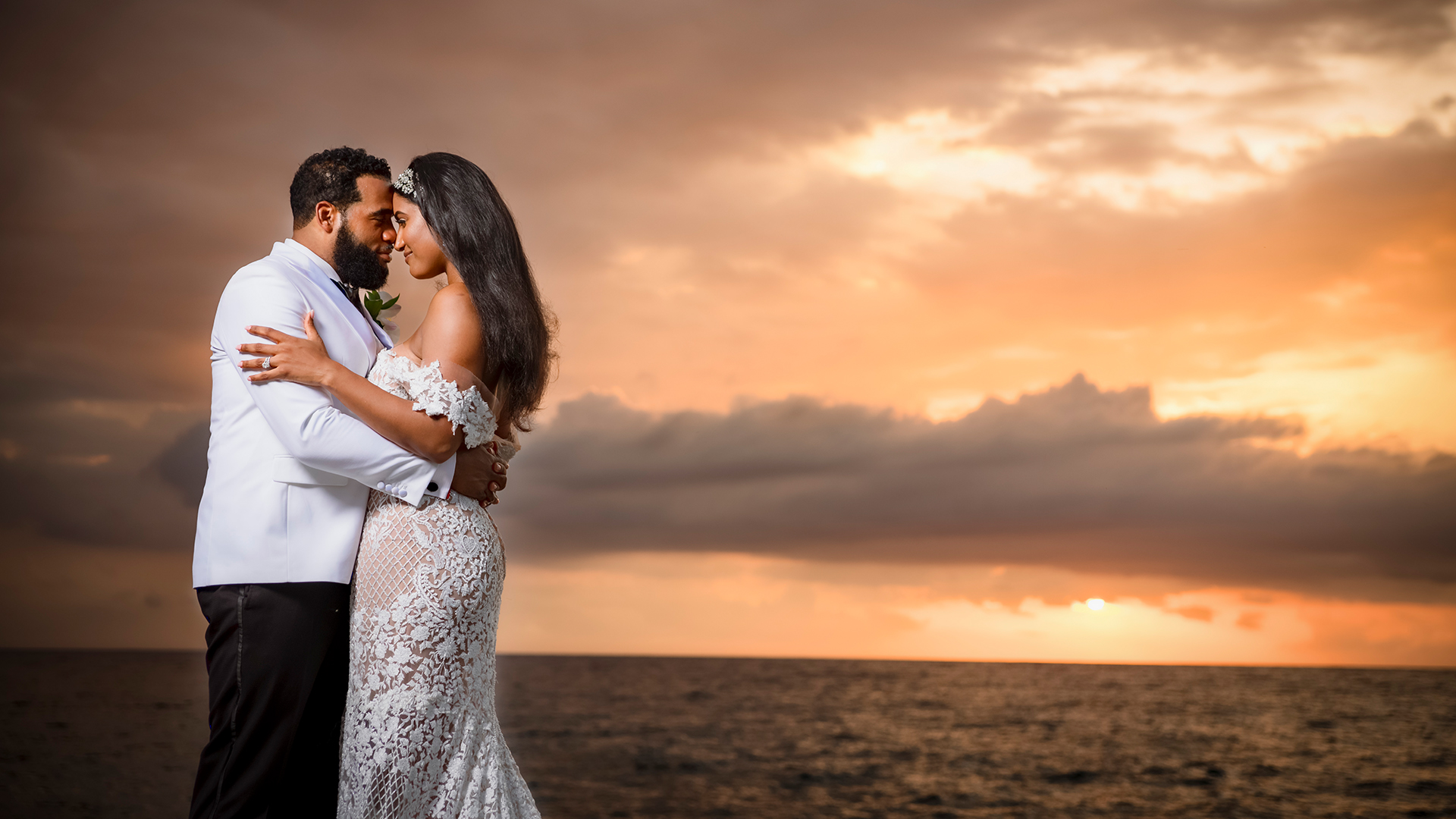 Lori + Estaban | Negril, Jamaica | The Cliffs Jamaica