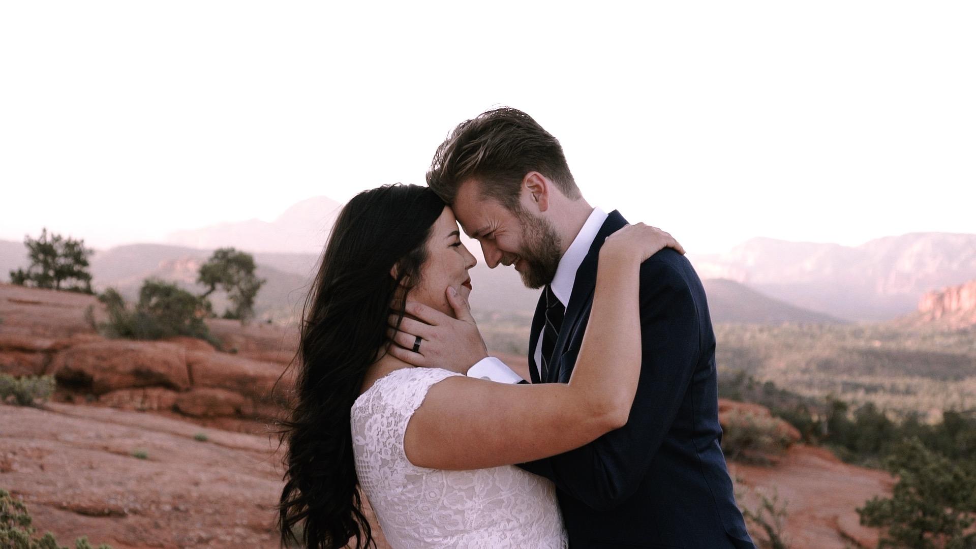 Jim + Gabriella | Sedona, Arizona | Yavapai Trail