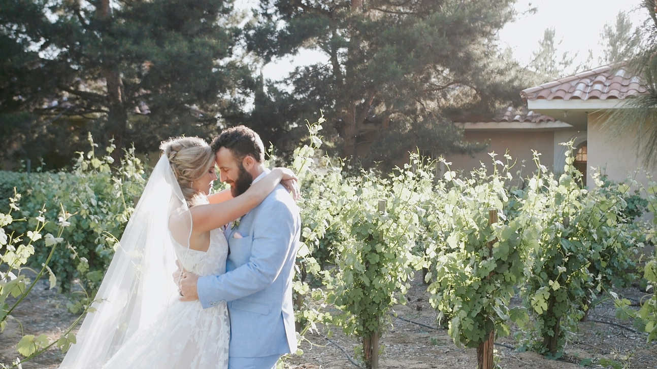 Rachel + Austin | Temecula, California | South Coast Winery