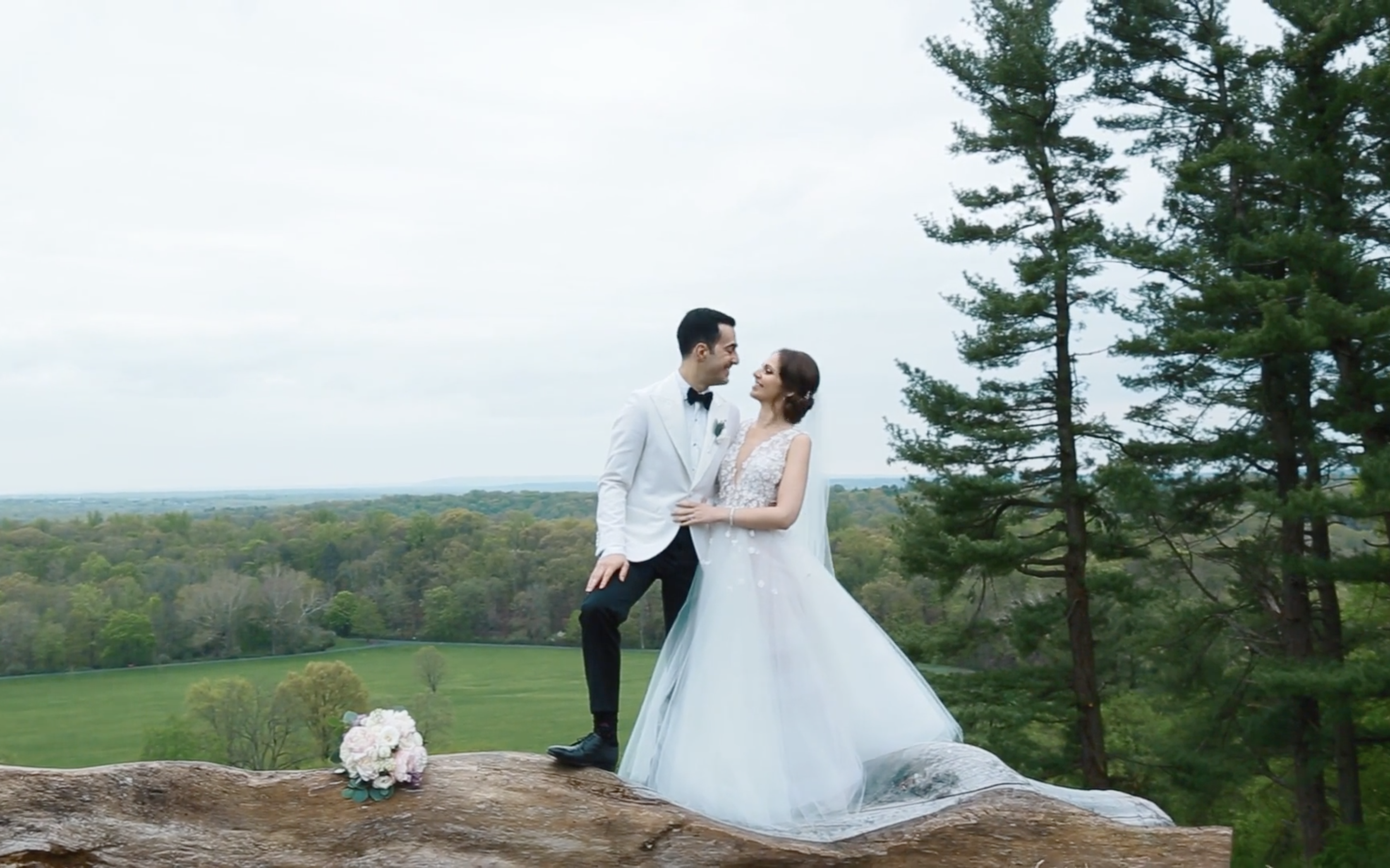 Olga + Joseph | Peapack, New Jersey | Natirar Mansion