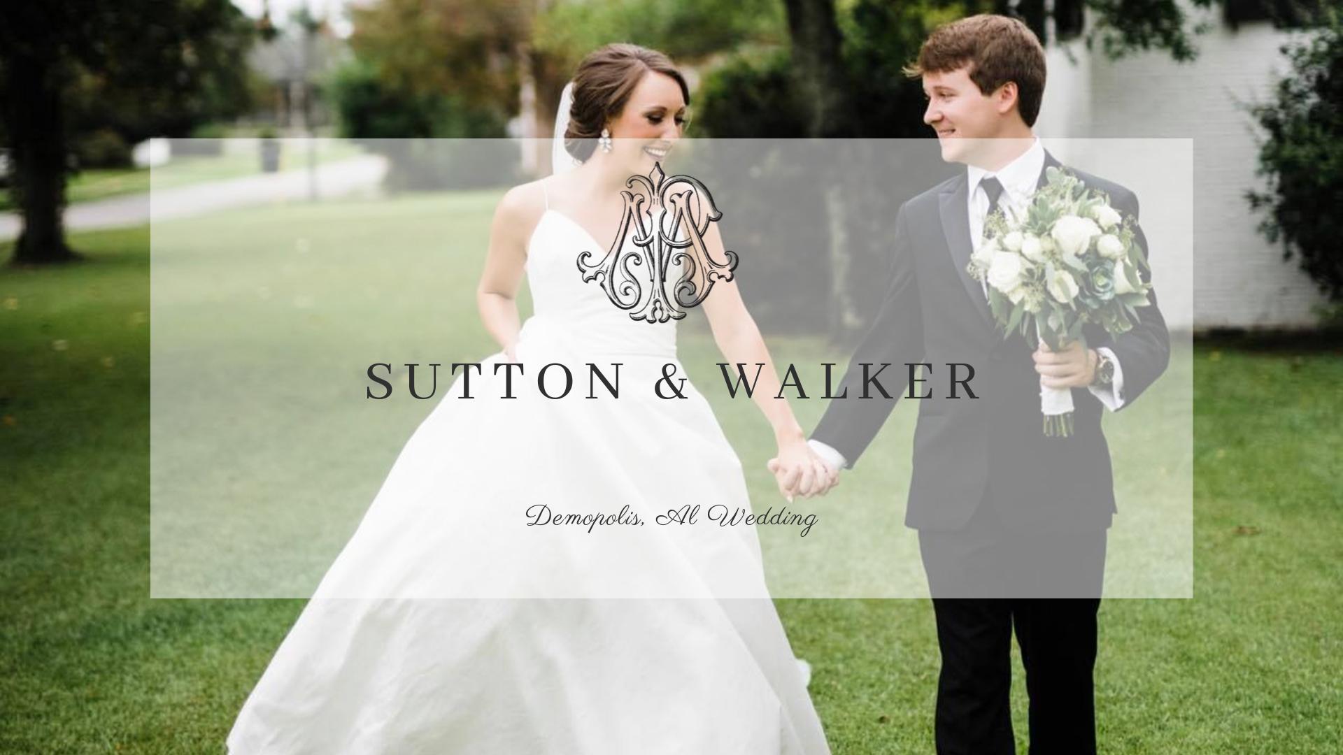 Sutton + Walker | Demopolis, Alabama | Demopolis Civic Center
