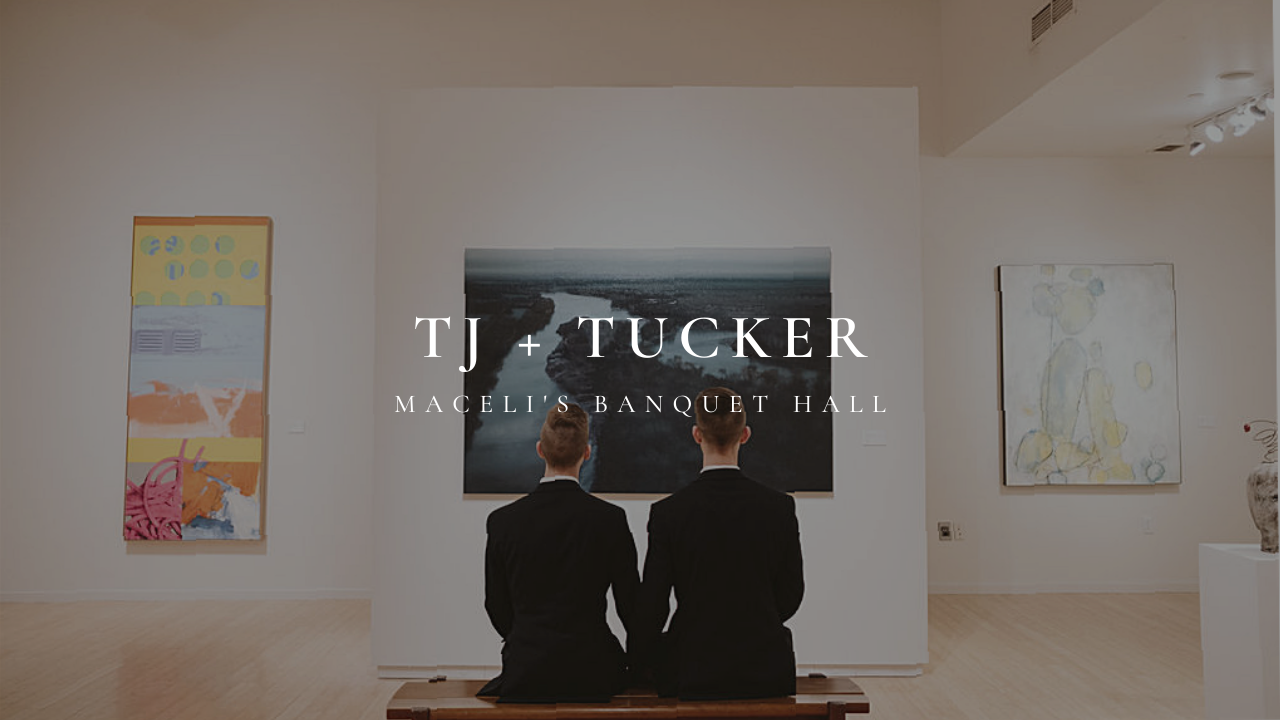 TJ + Tucker | Lawrence, Kansas | Maceli's Banquet Hall