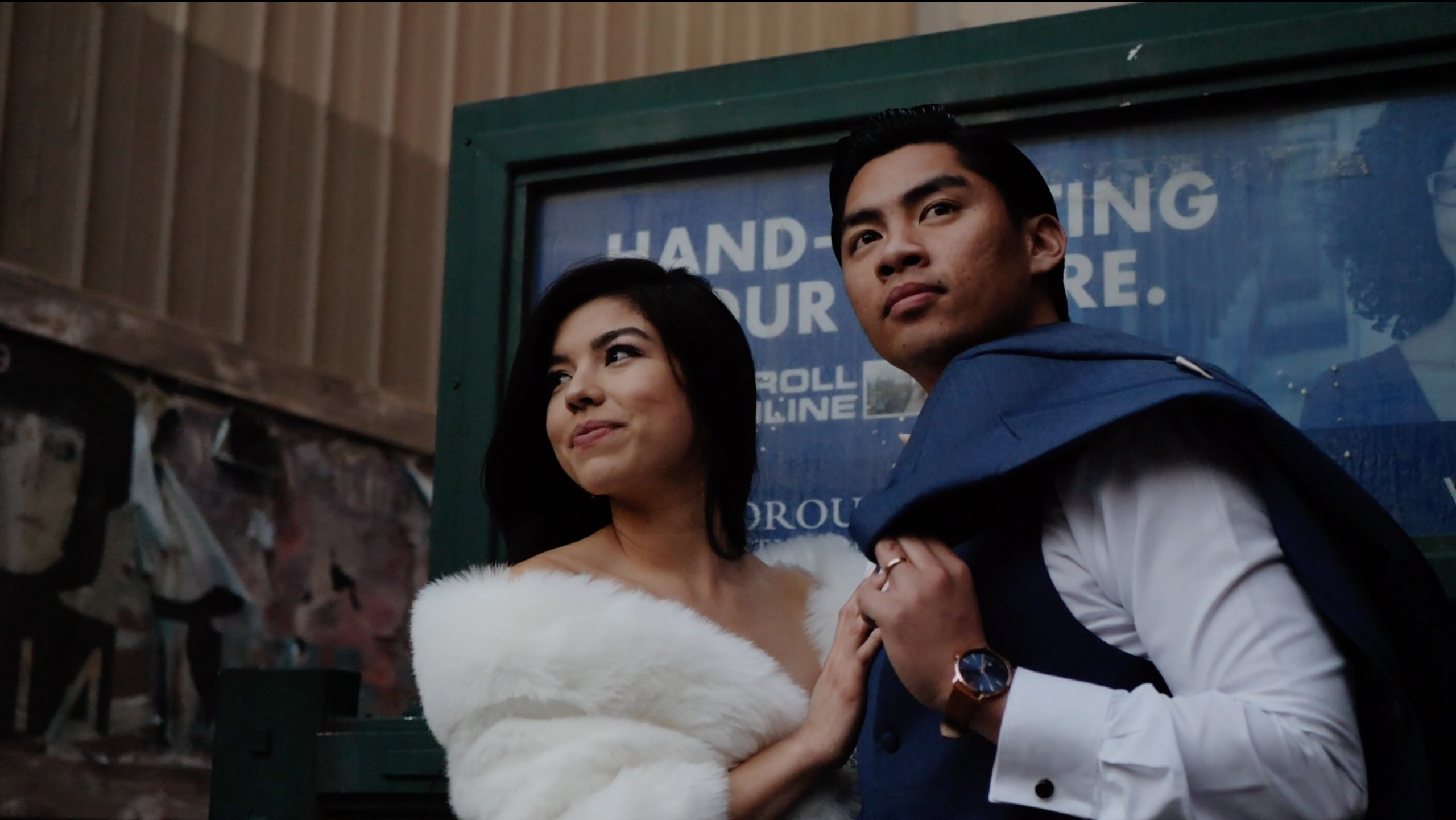 Natalie + Gian | Los Angeles, California | CBS Studio Backlot