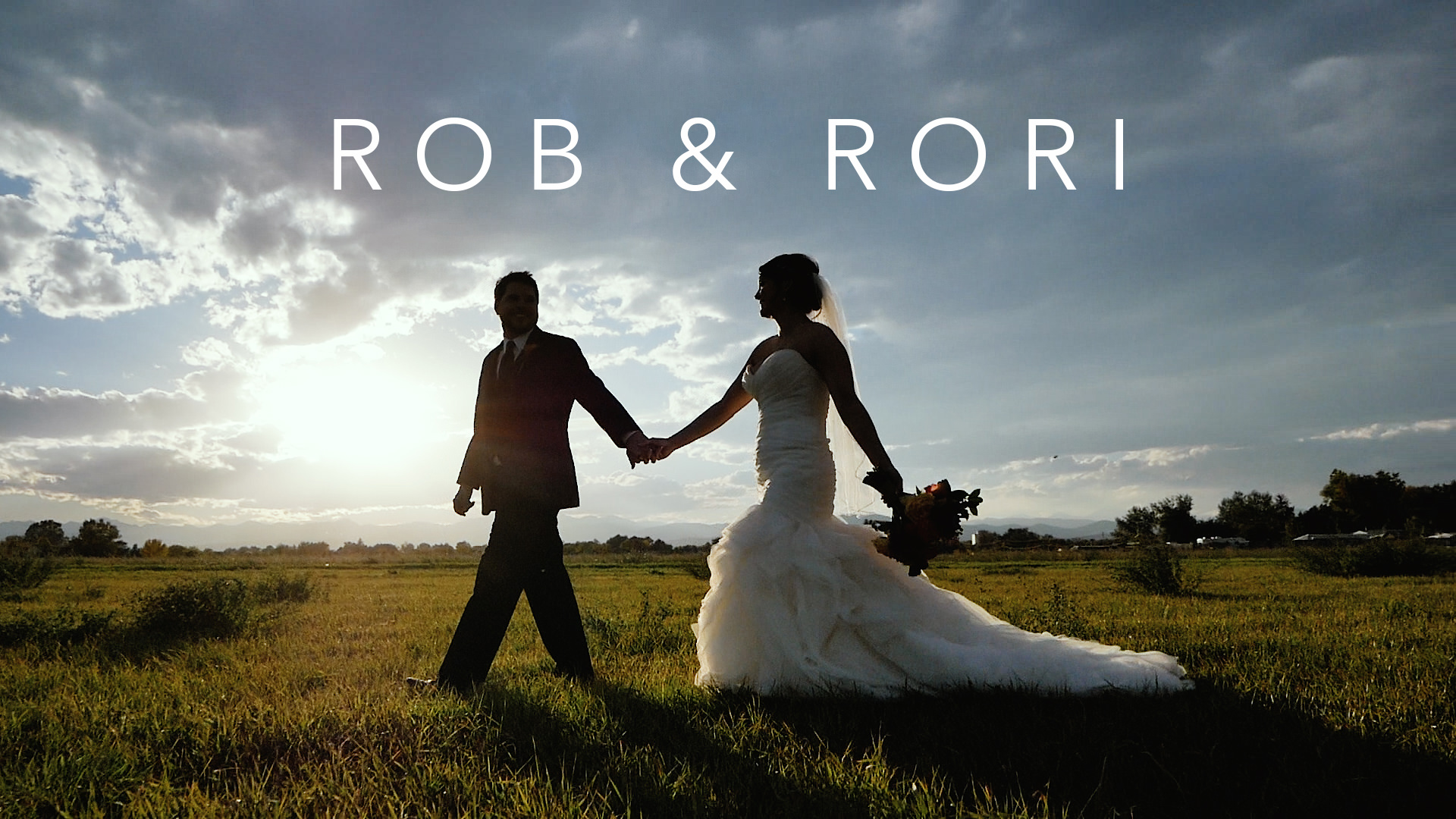Rob + Rori | Berthoud, Colorado | Brookside Gardens